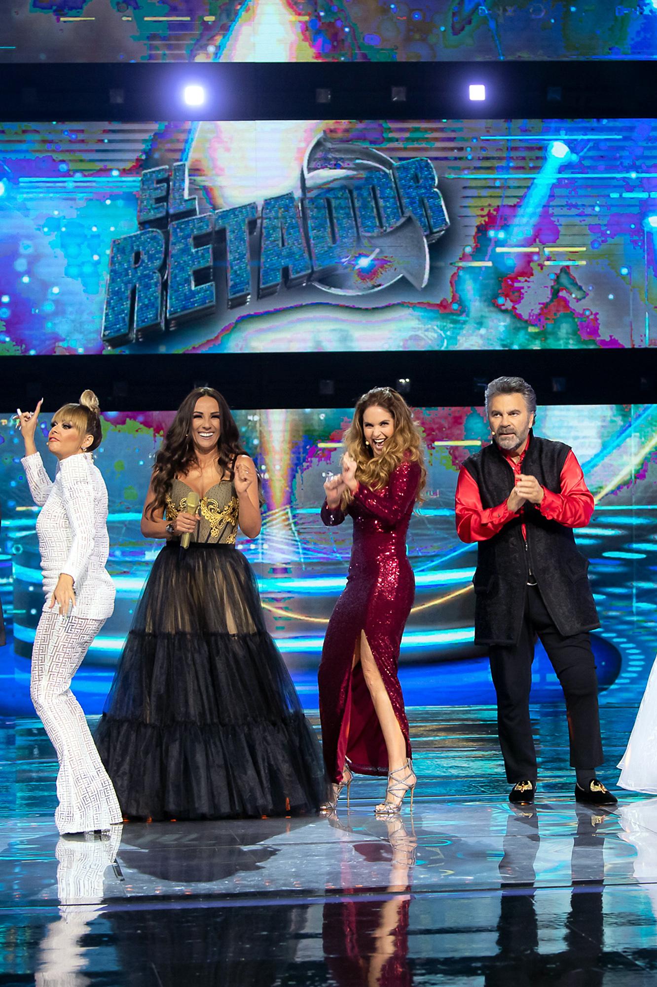 """Lucero, Consuelo Duval, Mijares e Itatí Cantoral en el cuarto programa de """"El Retador"""""""