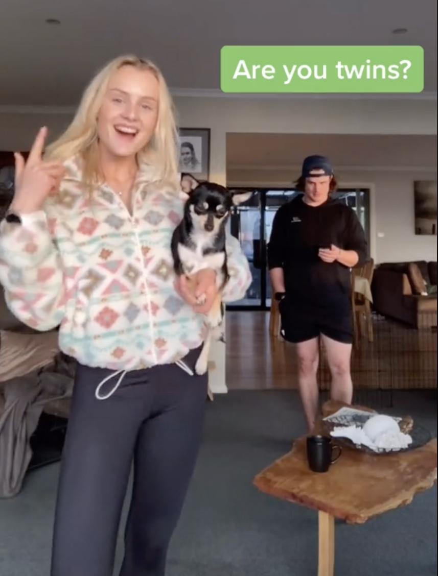 Sarah and Will Sargent - twins - tiktok viral