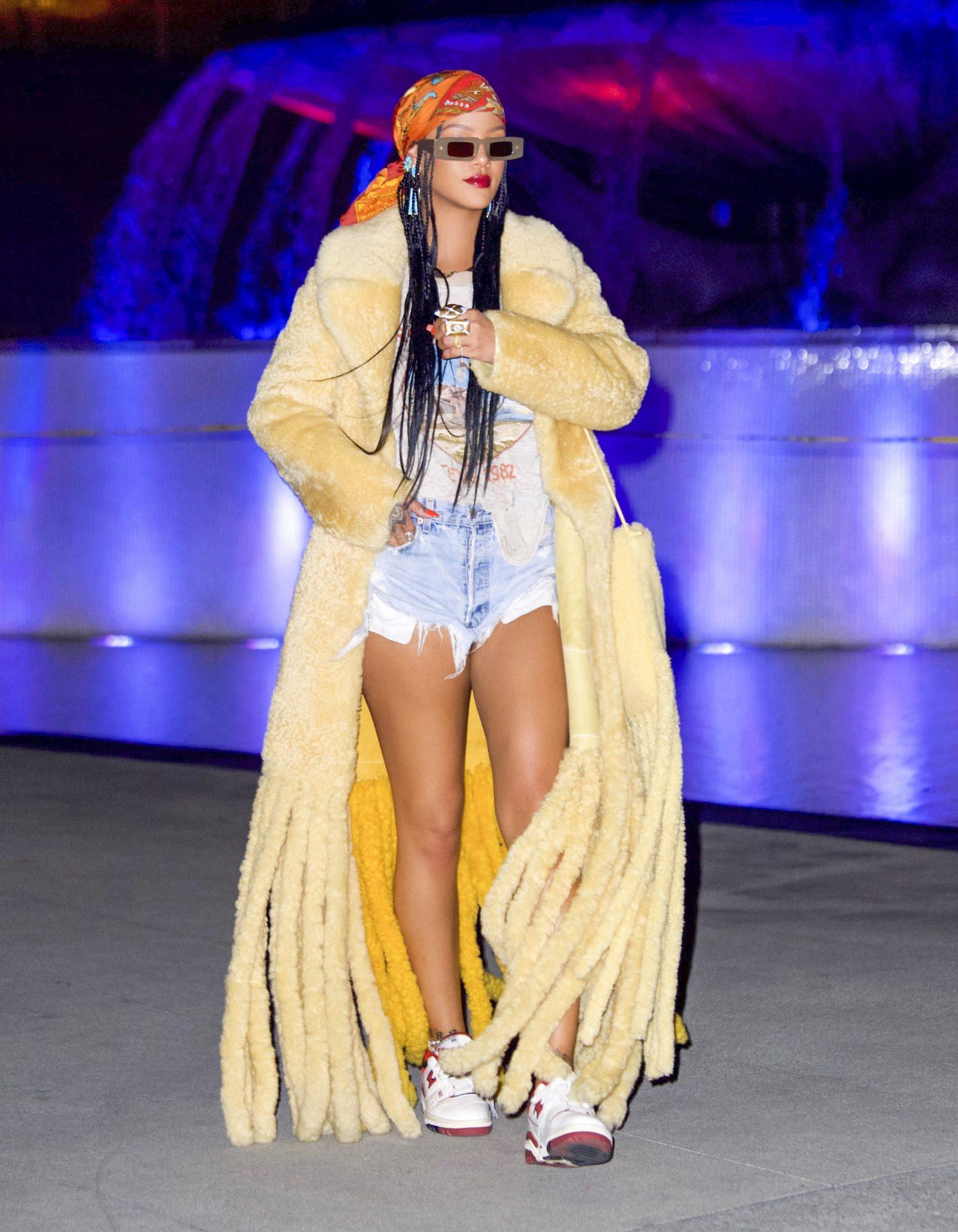 Rihanna, look del dia
