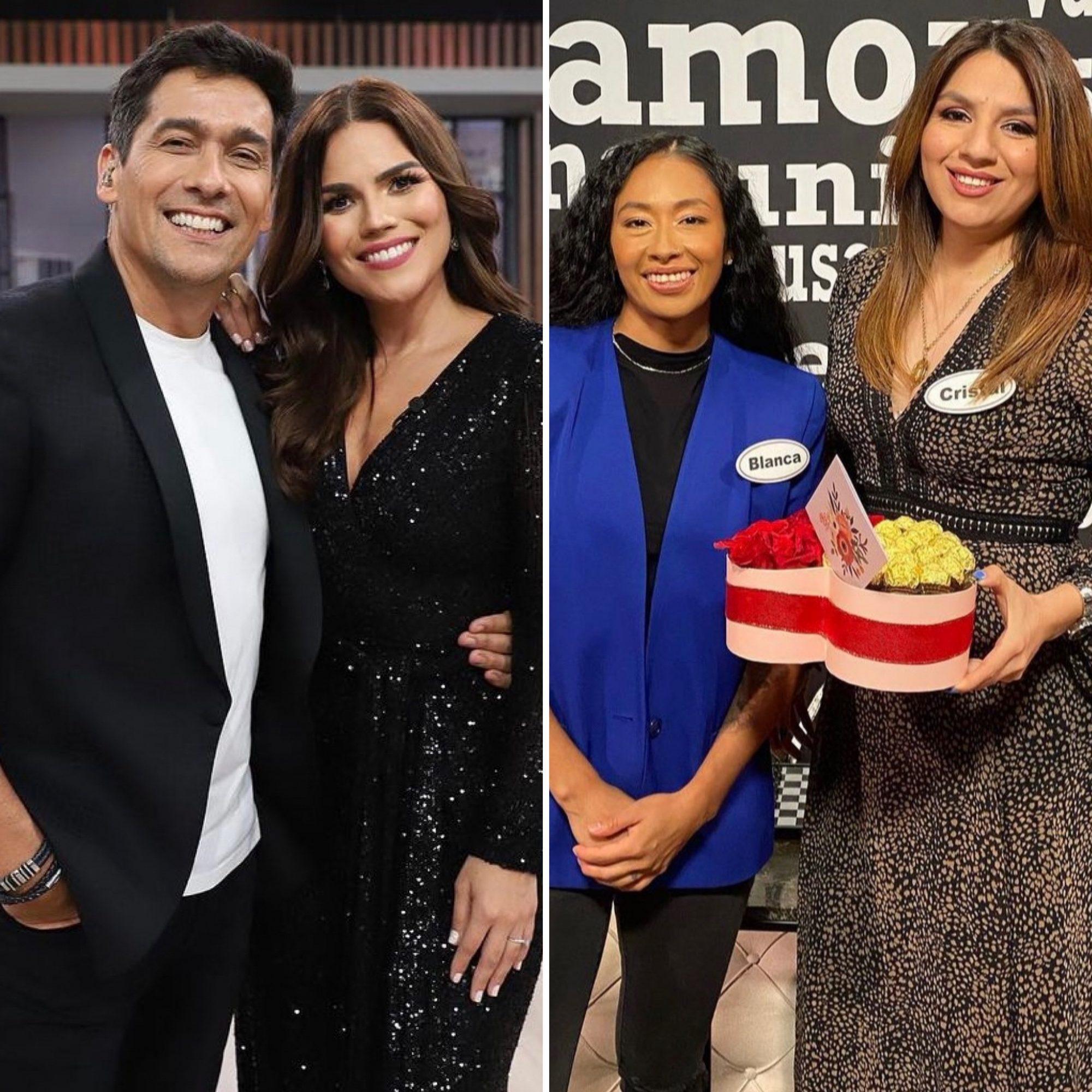 Rafael Araneda y Karina Banda/ Cristal y su flechada Blanca