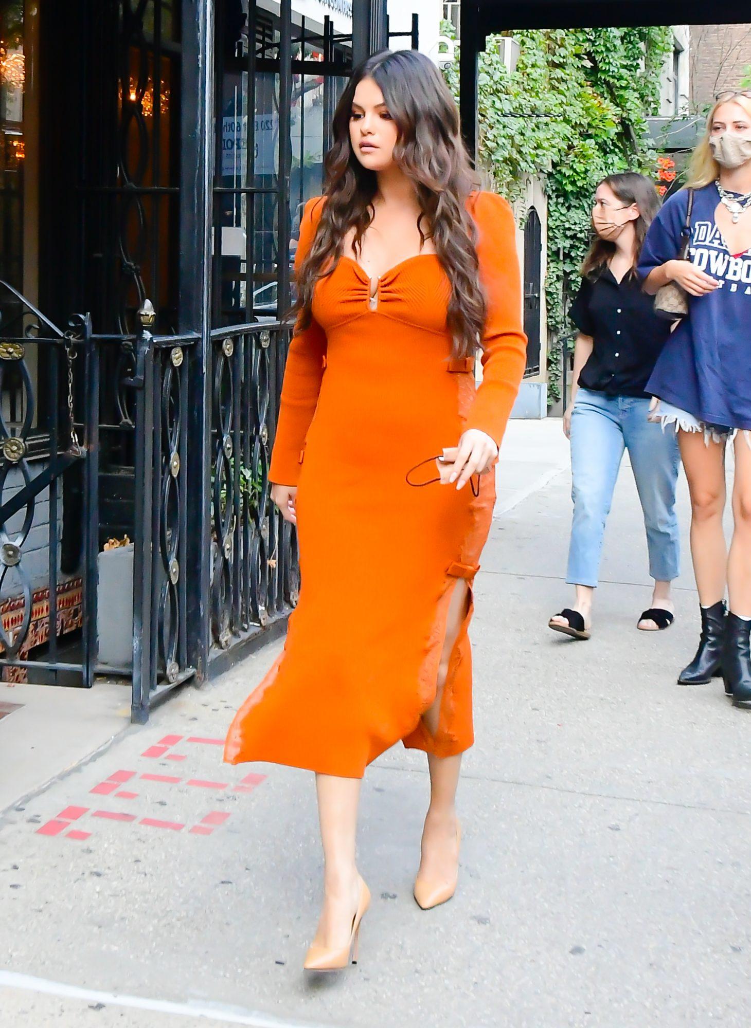 Selena Gomez, look del día