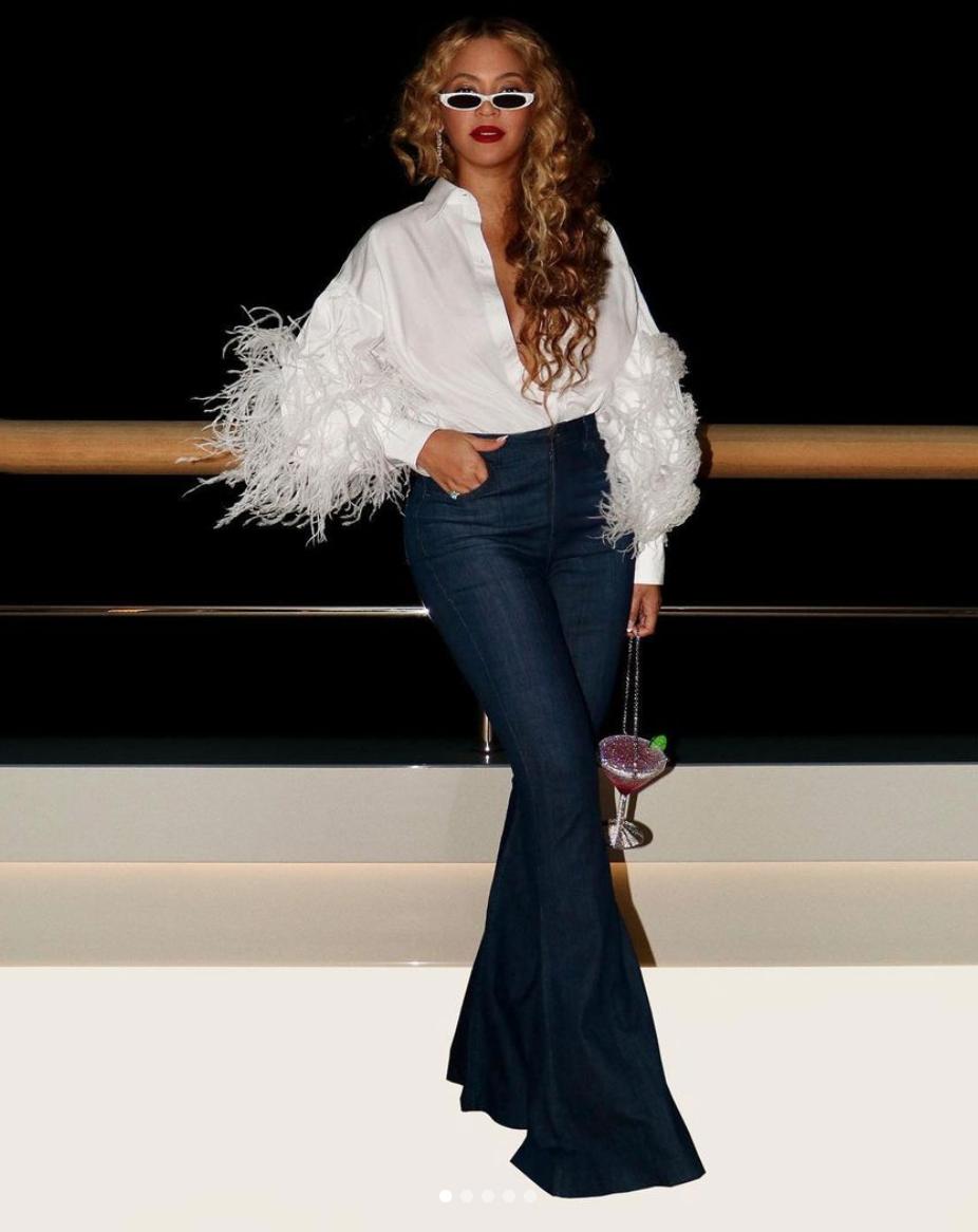 Beyonce look del día