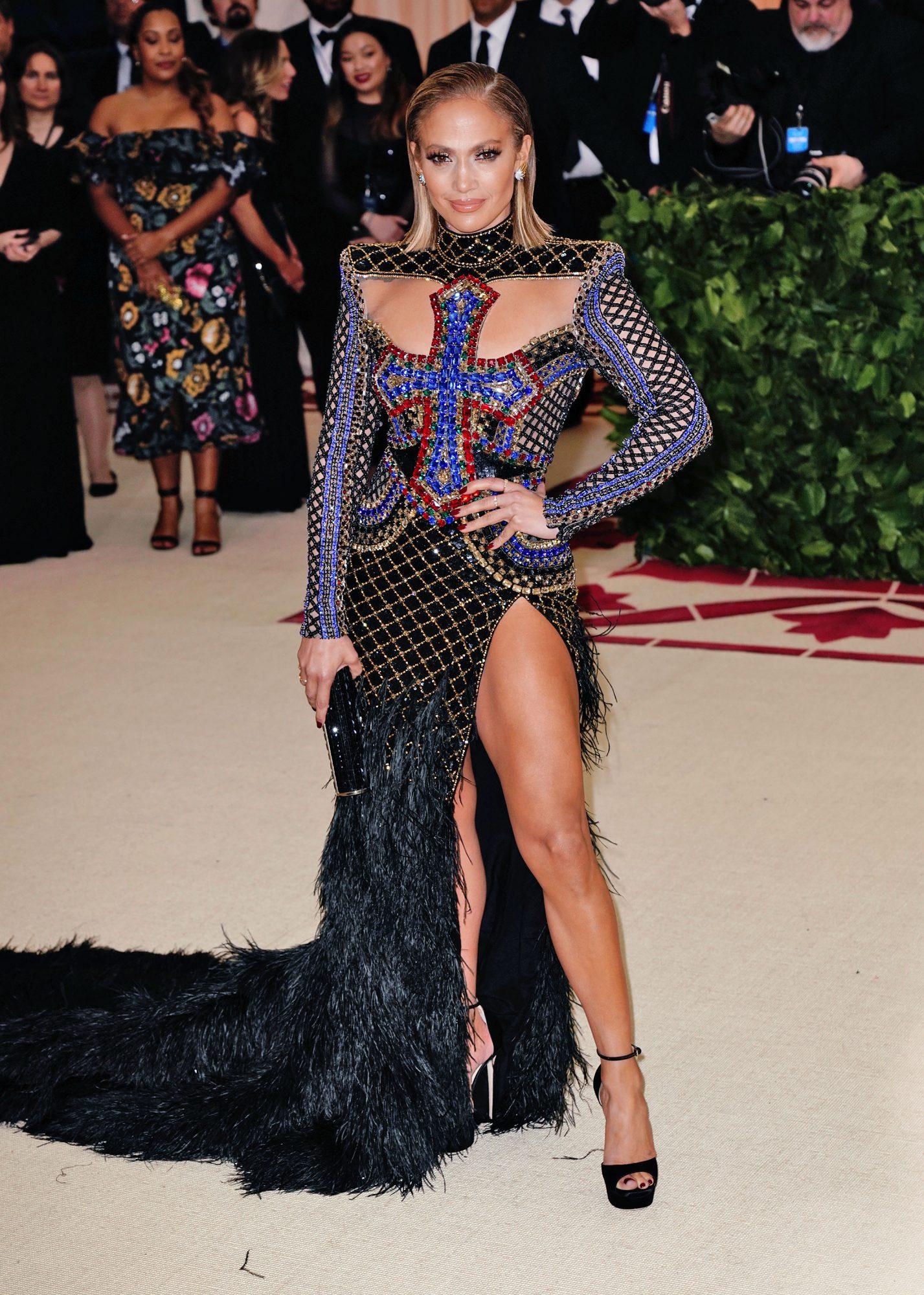 Jennifer Lopez en Met Gala