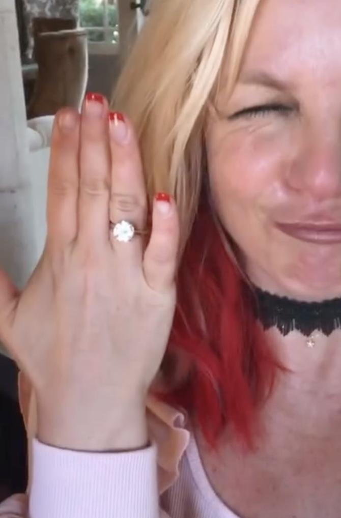 Britney Spears y Sam Asgari compromiso
