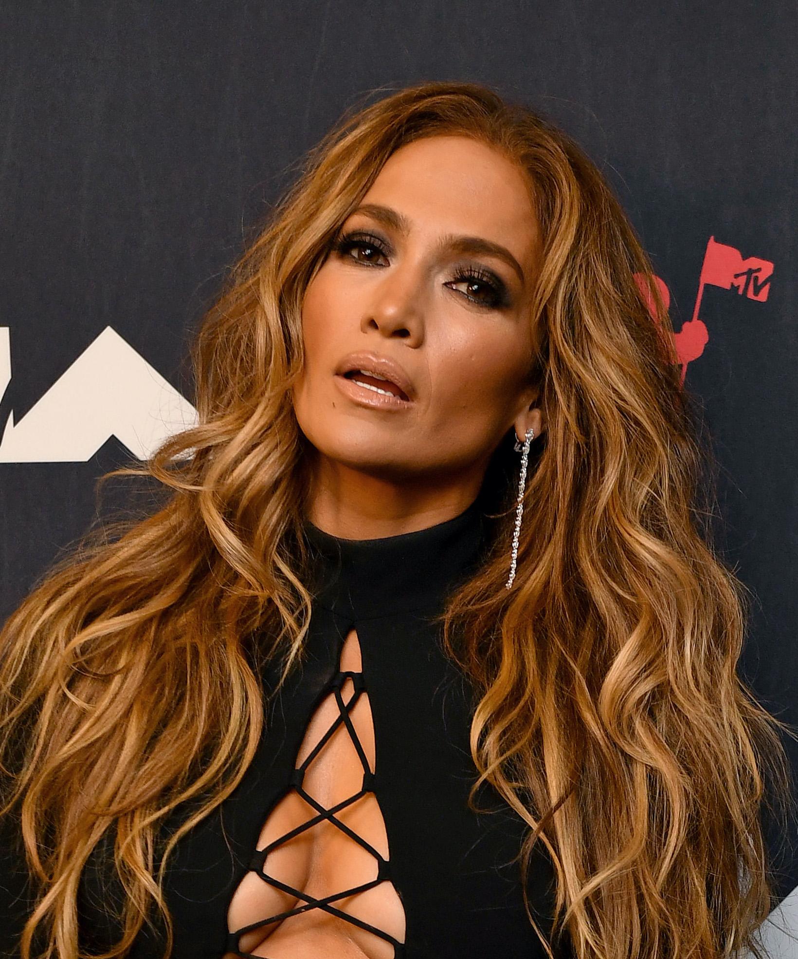 MTV VMA looks del belleza, J.Lo, Jennifer Lopez