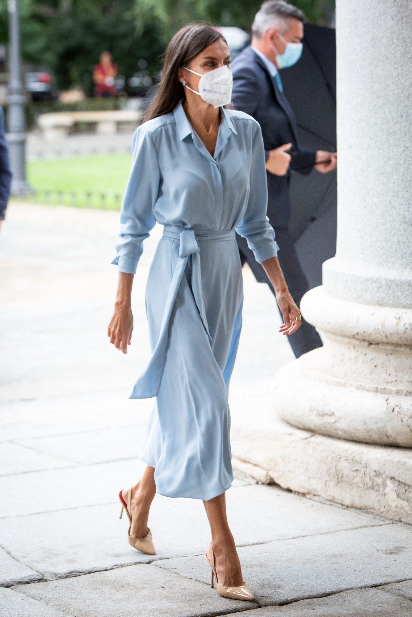 Reina Letizia, España, look del día