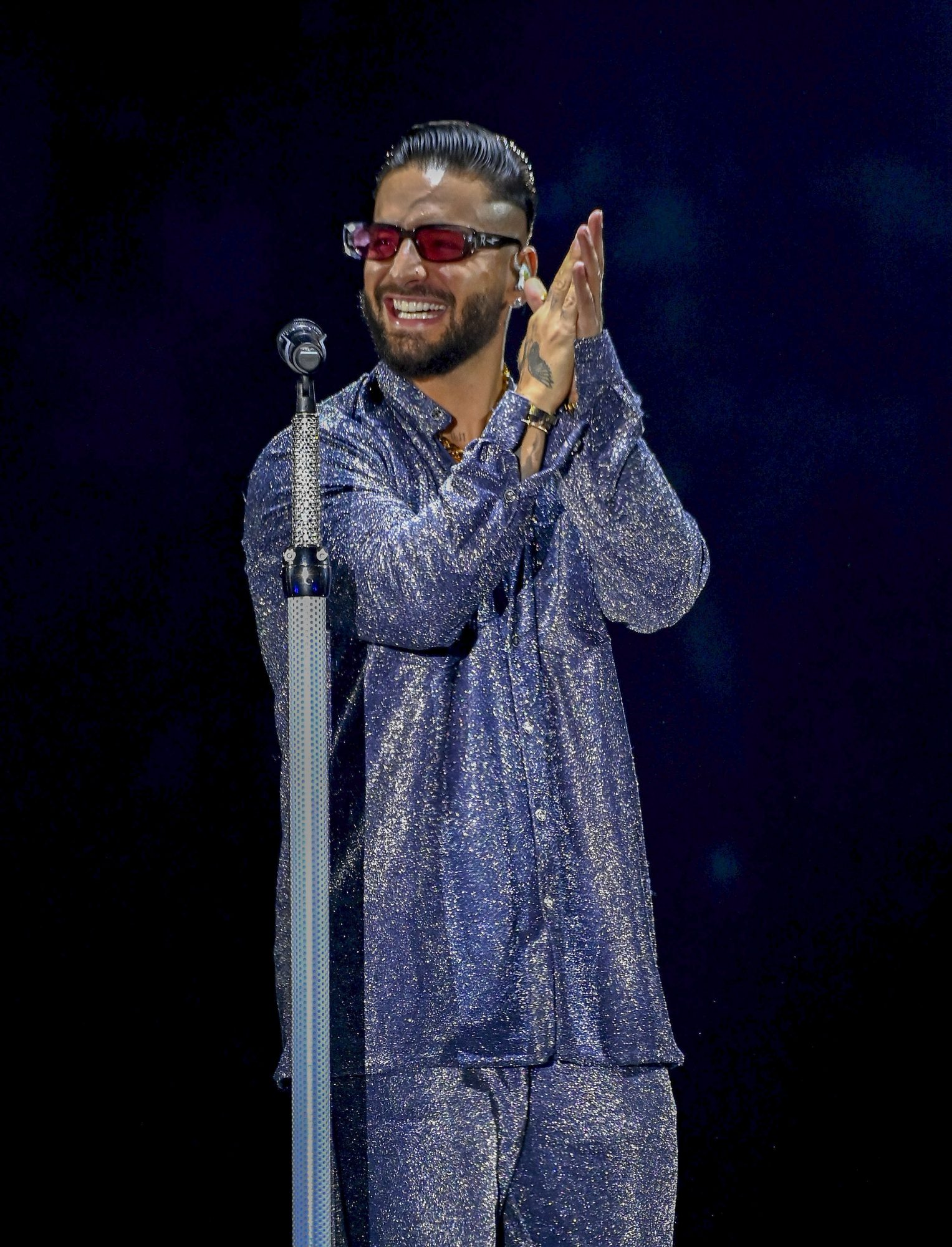 Maluma Performs in Concert During the 'Papi Juancho' Tour