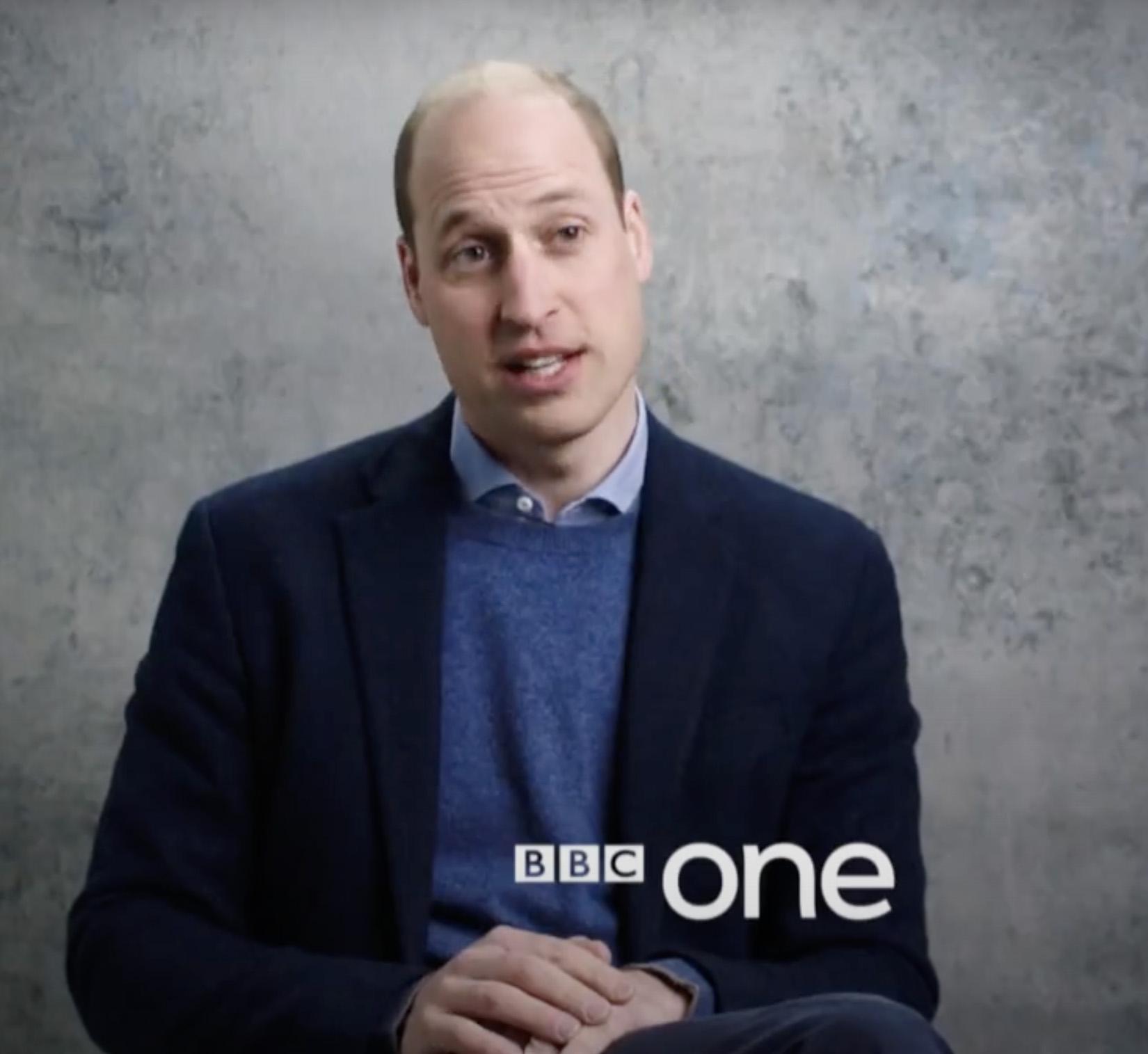 Prince William in BBC Prince Philip Tribute
