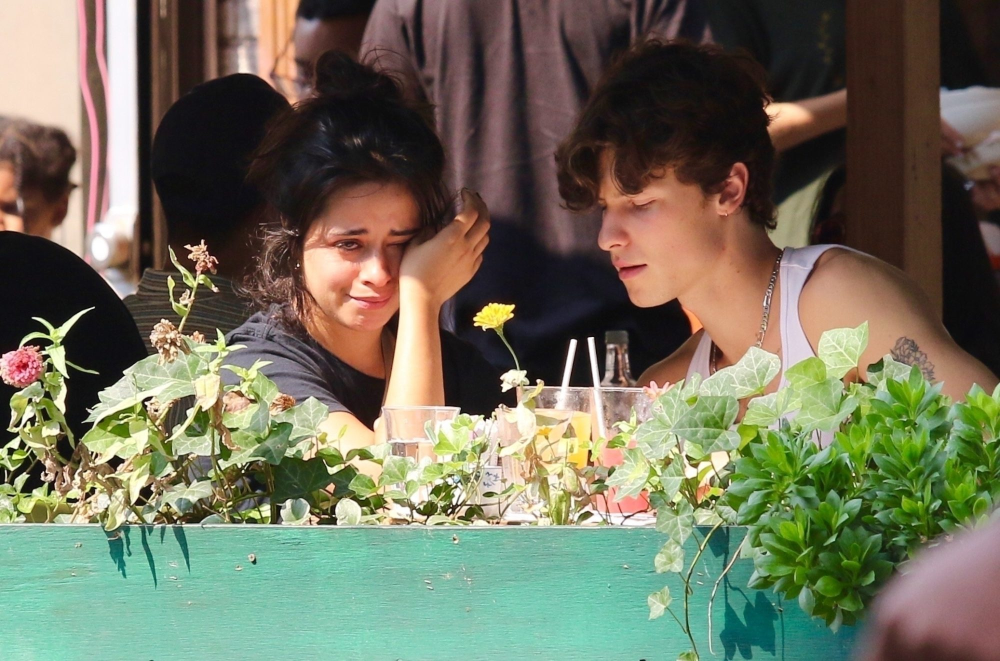 Camila Cabello is Seen Crying while Shawn Mendes Kisses her in NYC