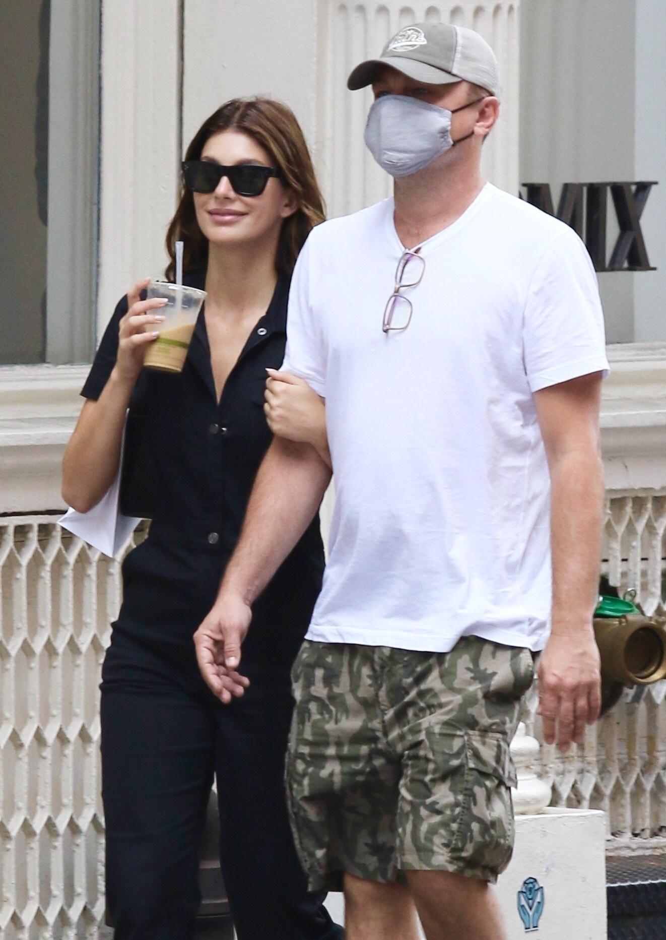Leonardo DiCaprio & Camila Morrone Walk Arm-in-Arm During Shopping Spree in NYC