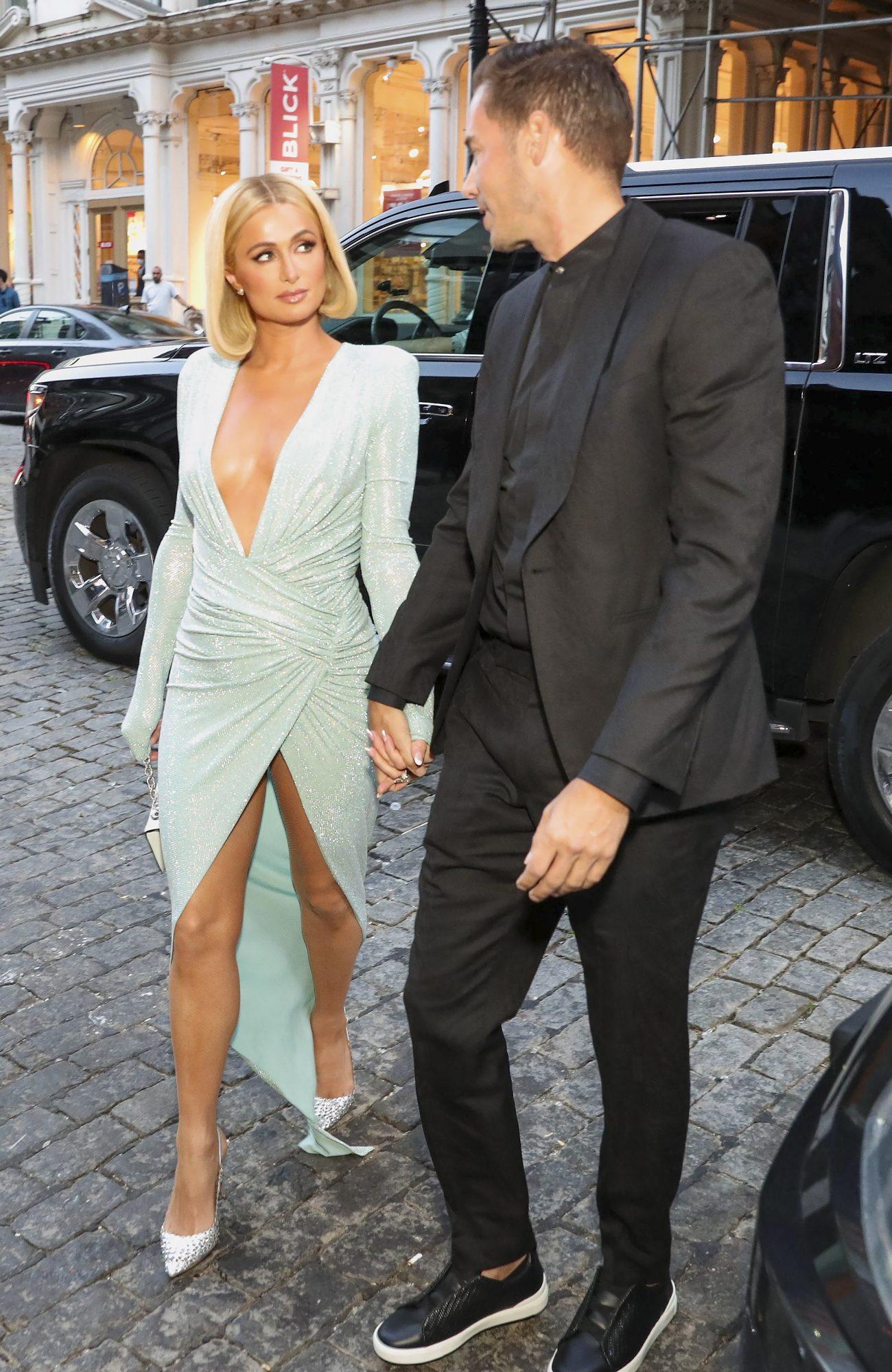 Paris Hilton, look del día