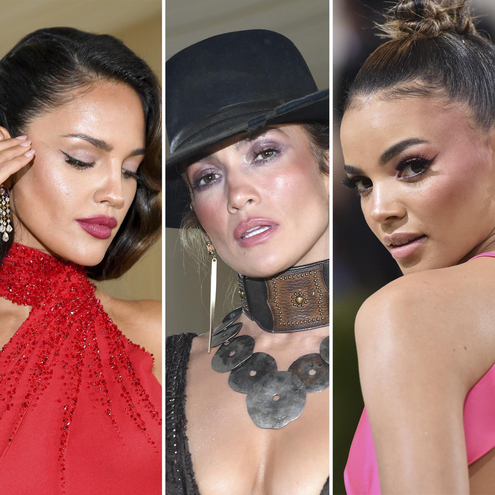 Eiza González, Jennifer Lopez y Leslie Grace