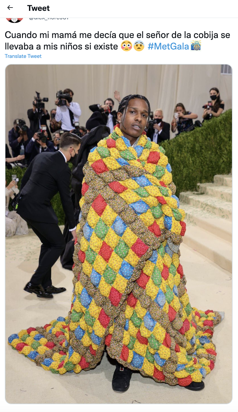 MET GALA 2021 Meme A$AP Rocky