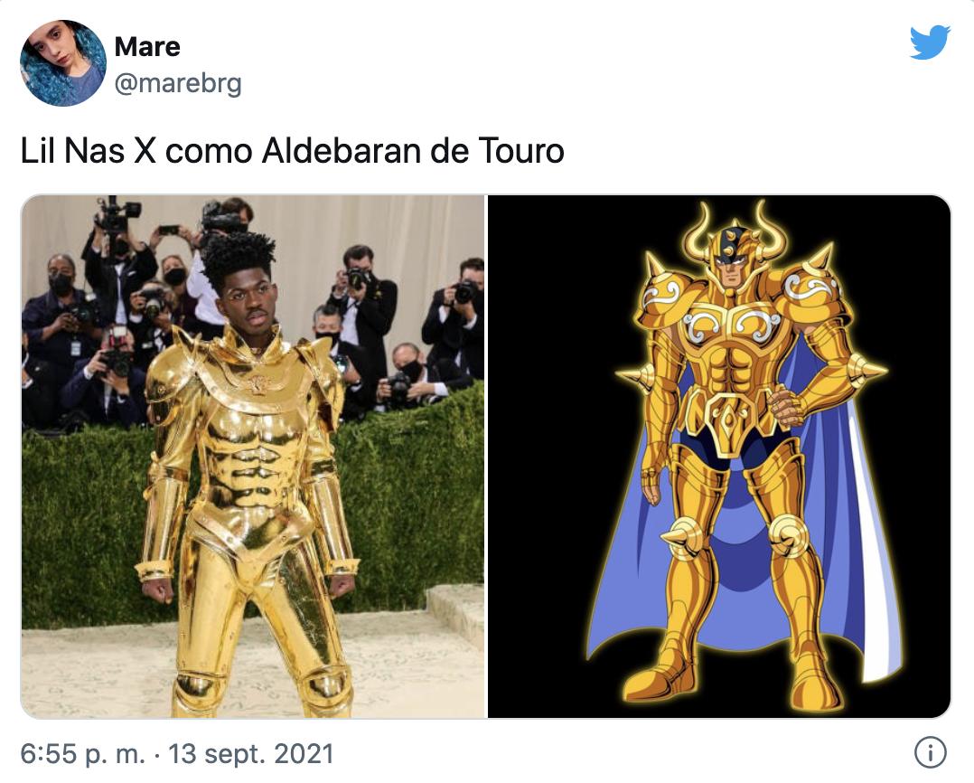 MET GALA 2021 Memes Lil Nas X