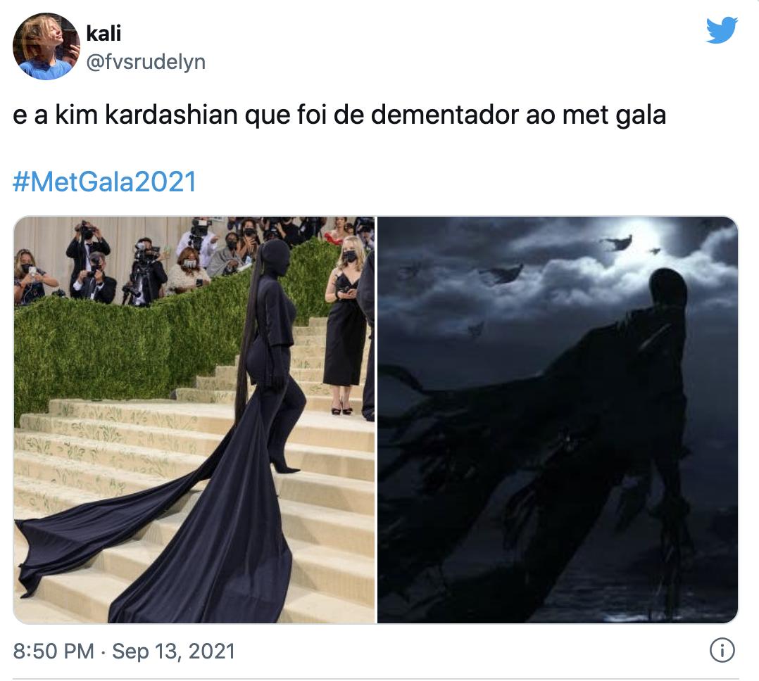 MET GALA 2021 Memes Kim Kardashian