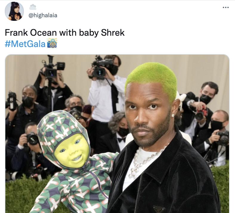 MET GALA 2021 Memes Frank Ocean