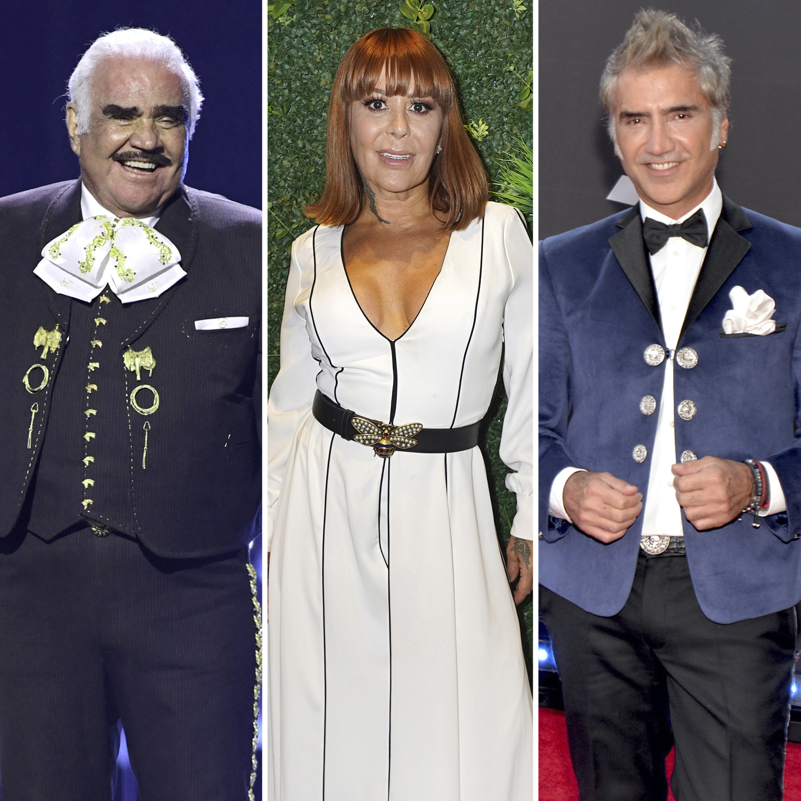 Vicente Fernandez, Alejandra Guzman y Alejandro Fernandez