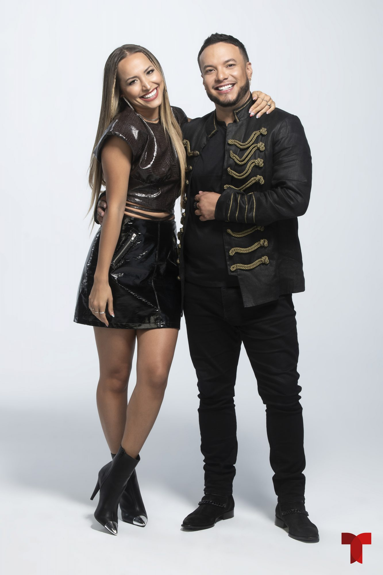 Jessica Diaz y Lorenzo Mendez