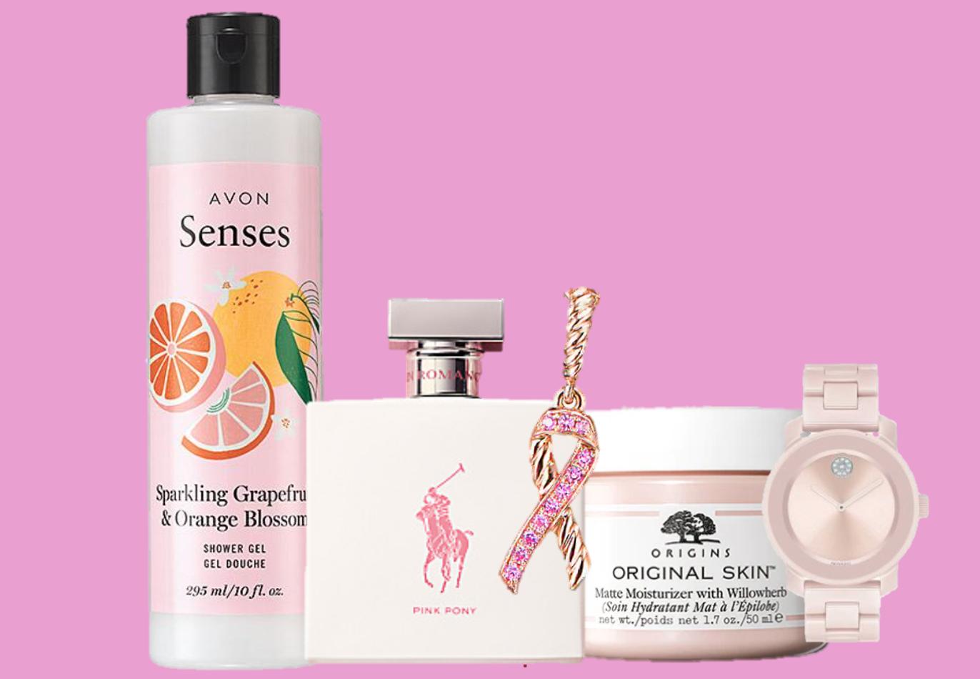 Breast Cancer Awareness, Cáncer de mama, productos