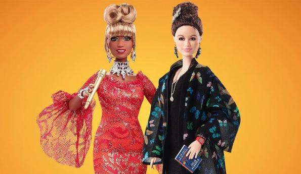 Barbie Celia Cruz y Julia ALvarez