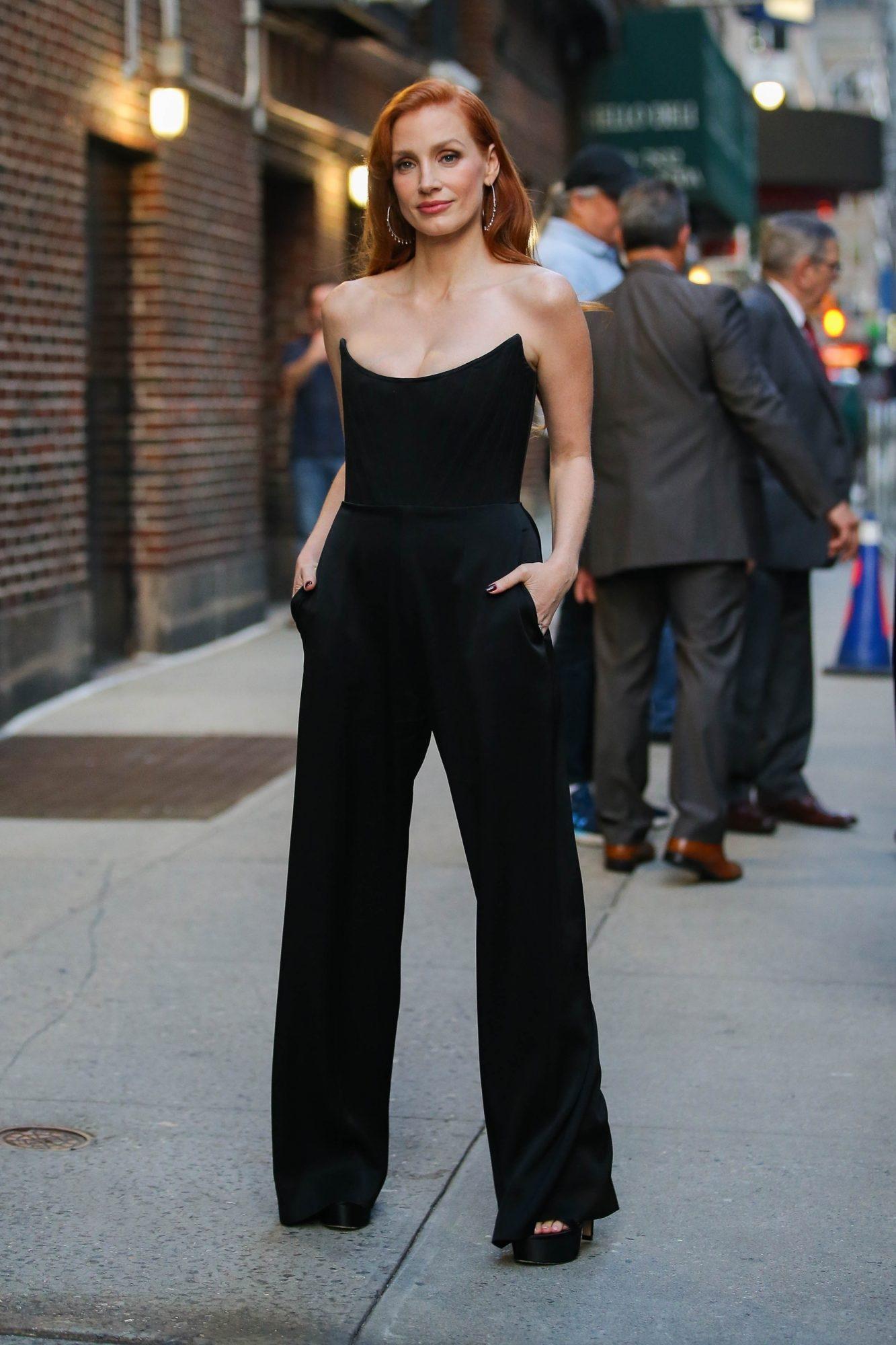 Jessica Chastain, look del dia