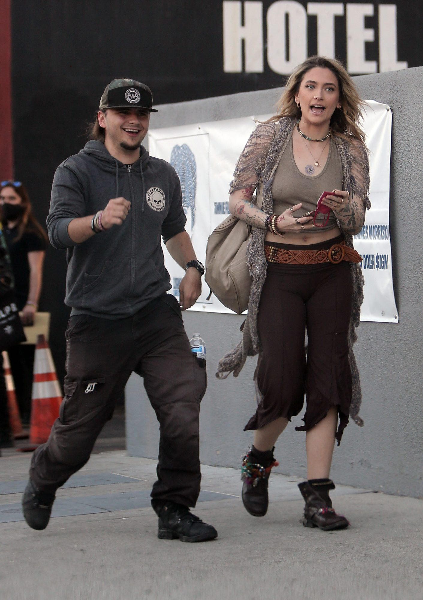 Paris Jackson Was Spotted on a Rare Outing with her Older Brother Prince
