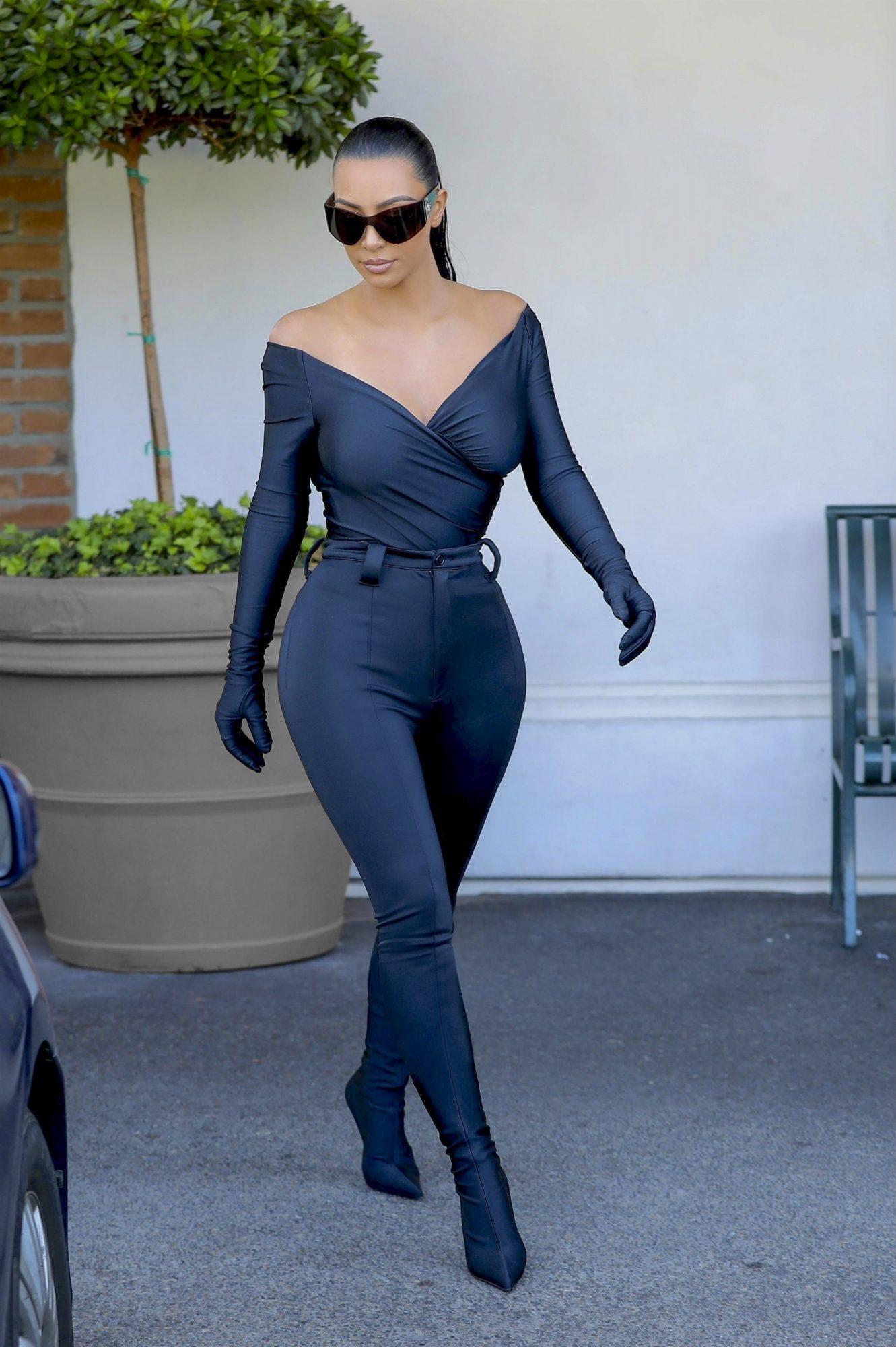 Kim Karadashian, look del dia