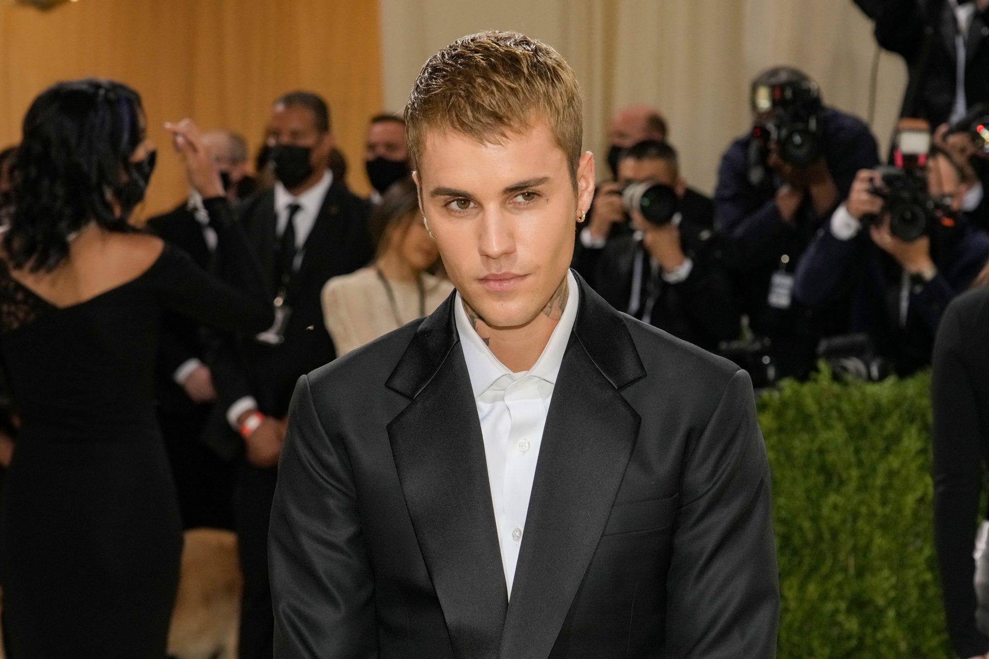 Justin Bieber Met Gala Celebration 2021-New York