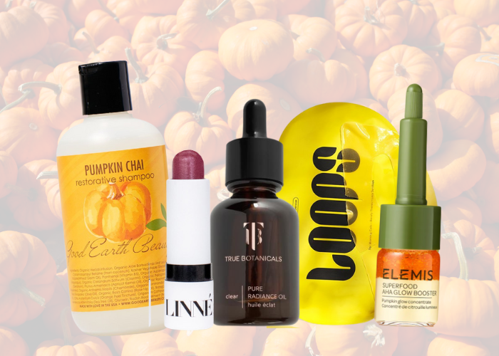 Productos calabaza ingrediente otoño