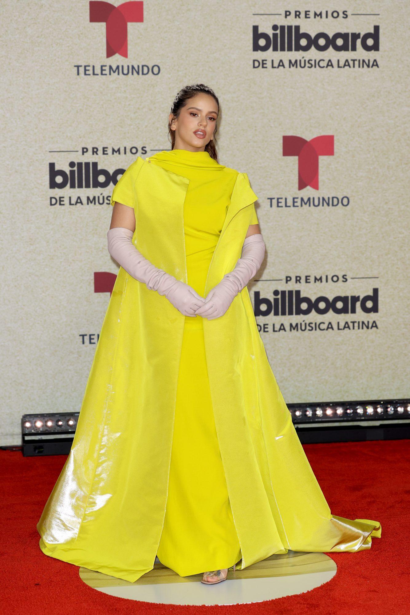 Rosalia Premios Billboard 2021
