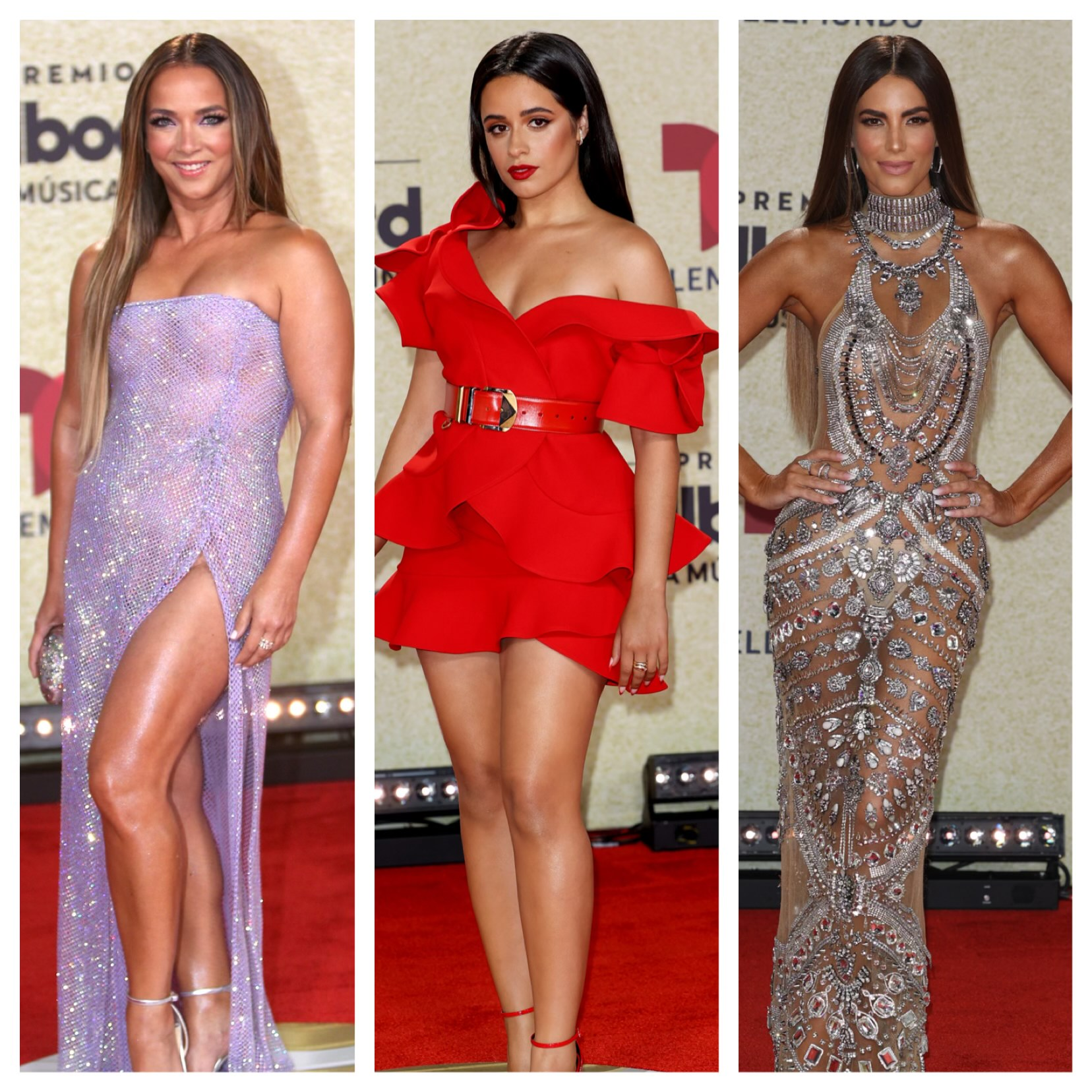 Premios Billboard 2021, adamari lopez, gaby espino, Camila Cabello
