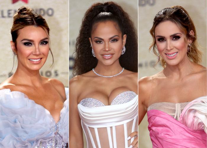 Mejores looks de belleza Latin Billboard 2021
