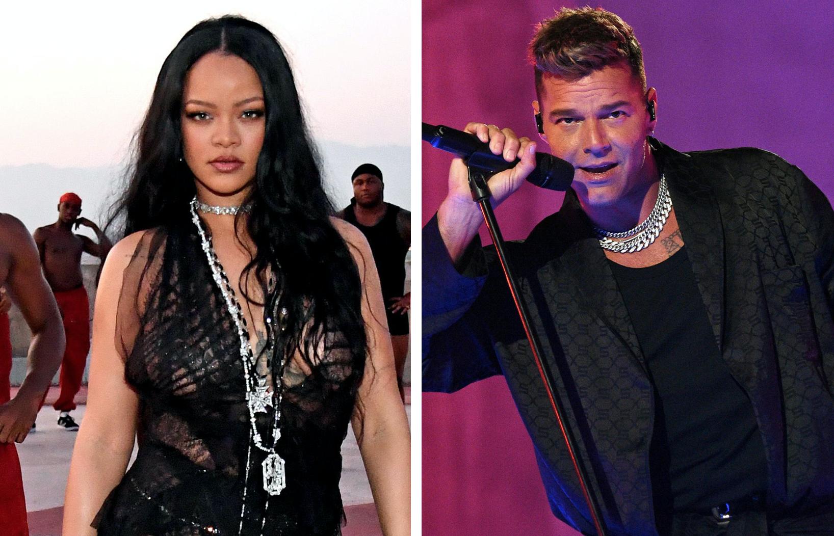 Rihanna, Ricky Martin, Savage X Fenty