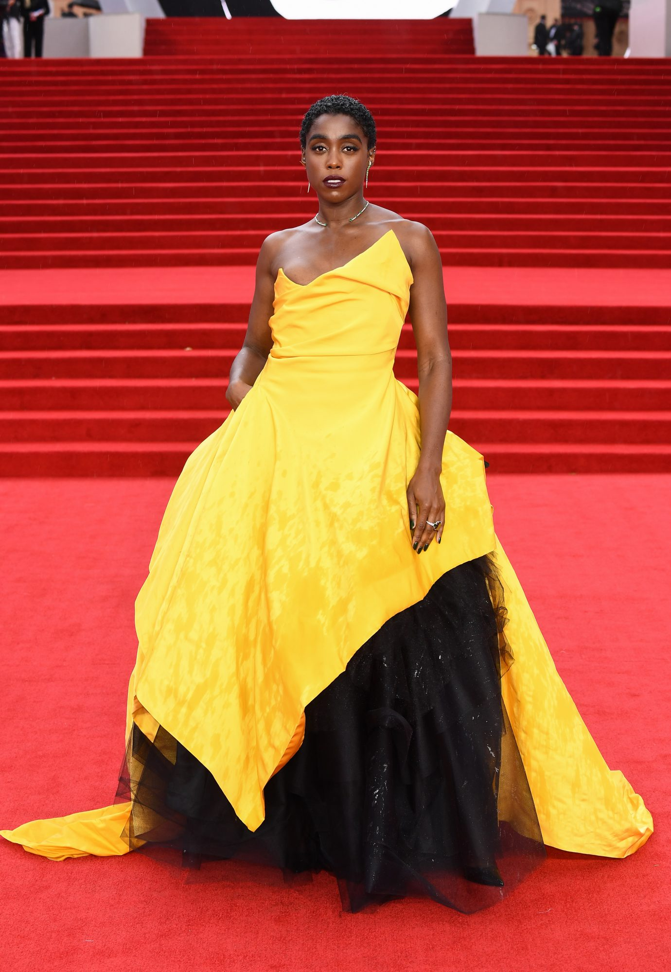 James Bond, No Time to Die estreno, alfombra roja, Lashana Lynch
