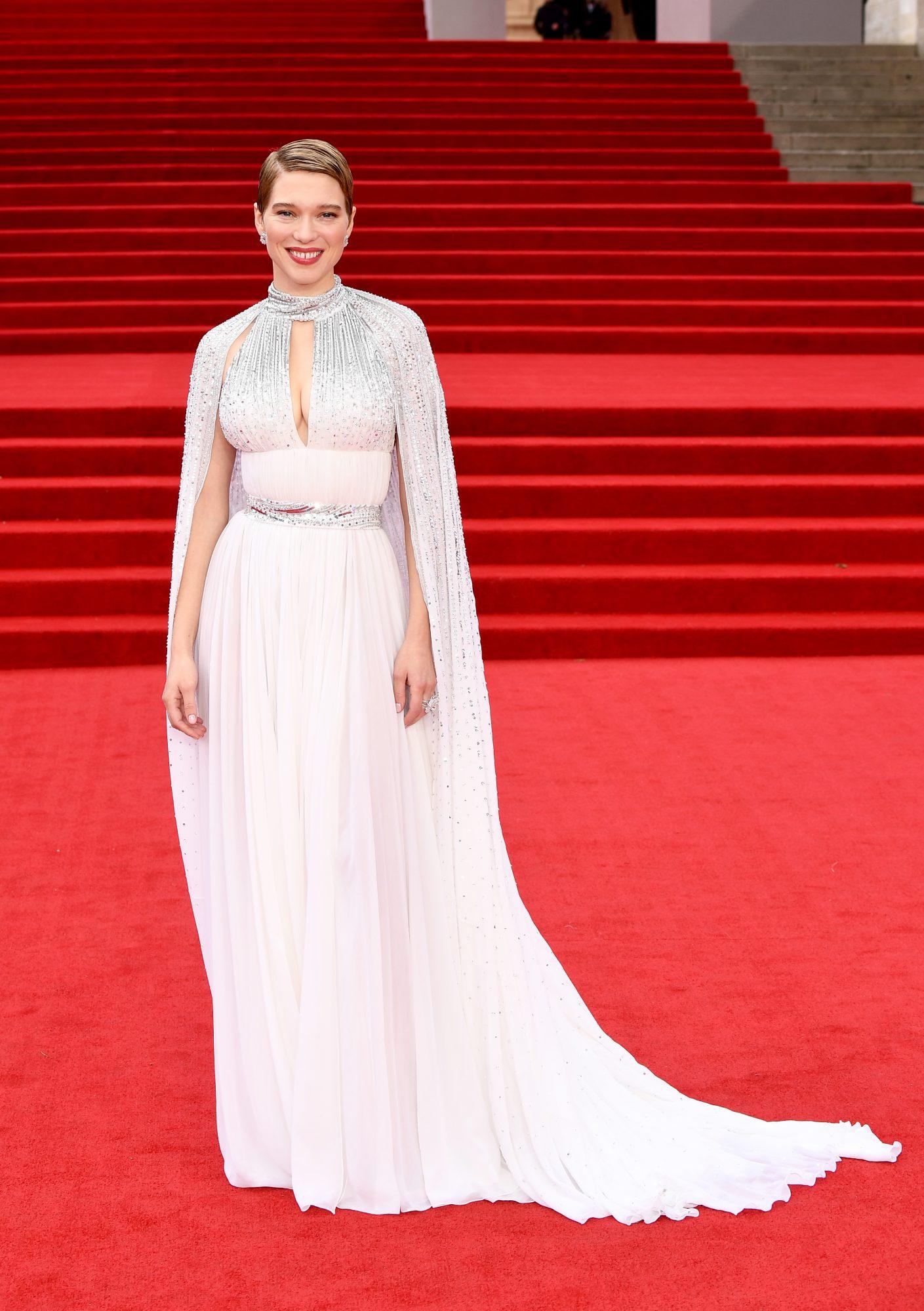James Bond, No Time to Die estreno, alfombra roja, Léa Seydoux