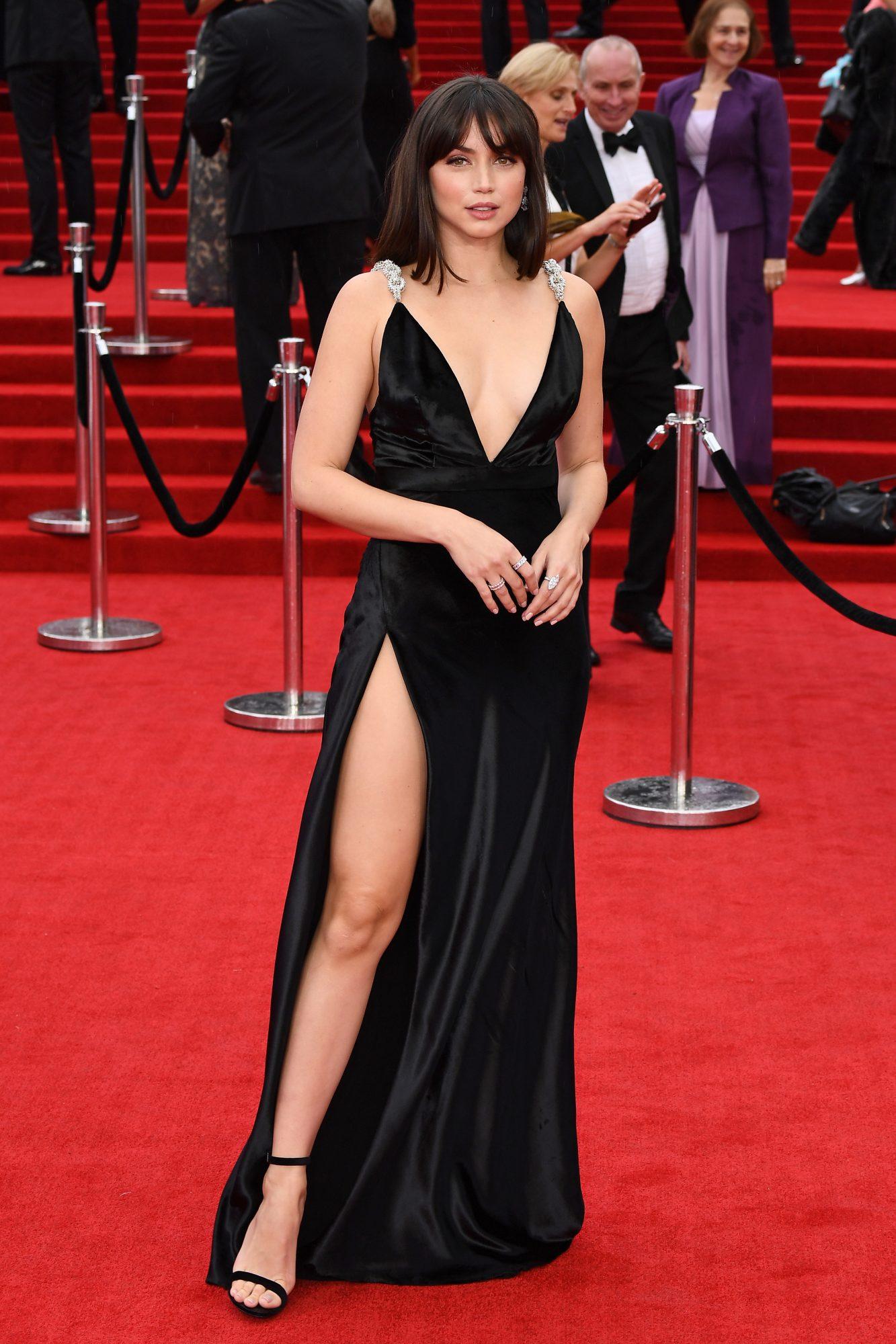 James Bond, No Time to Die estreno, alfombra roja, Ana De Armas