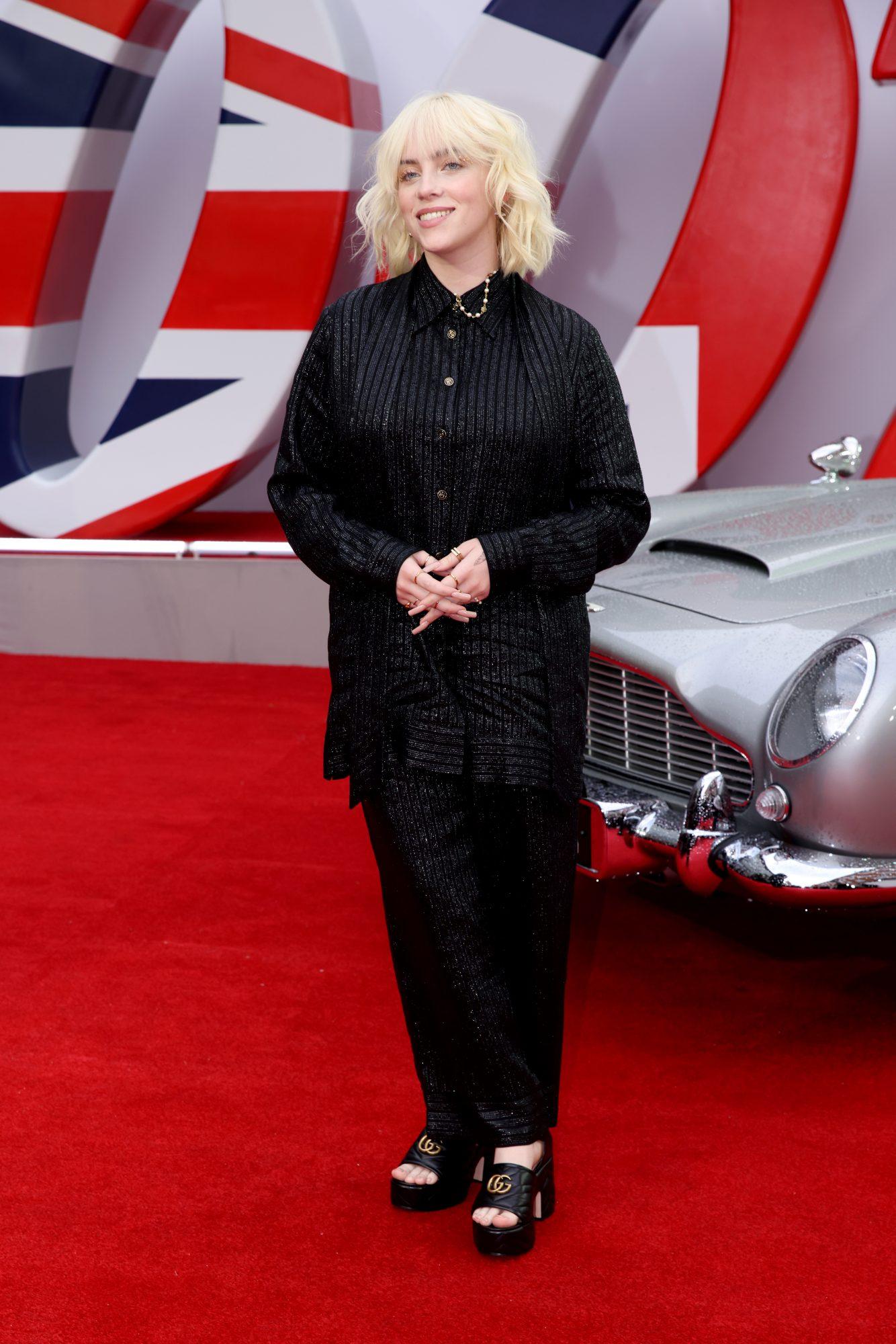 James Bond, No Time to Die estreno, alfombra roja, Billie Eilish