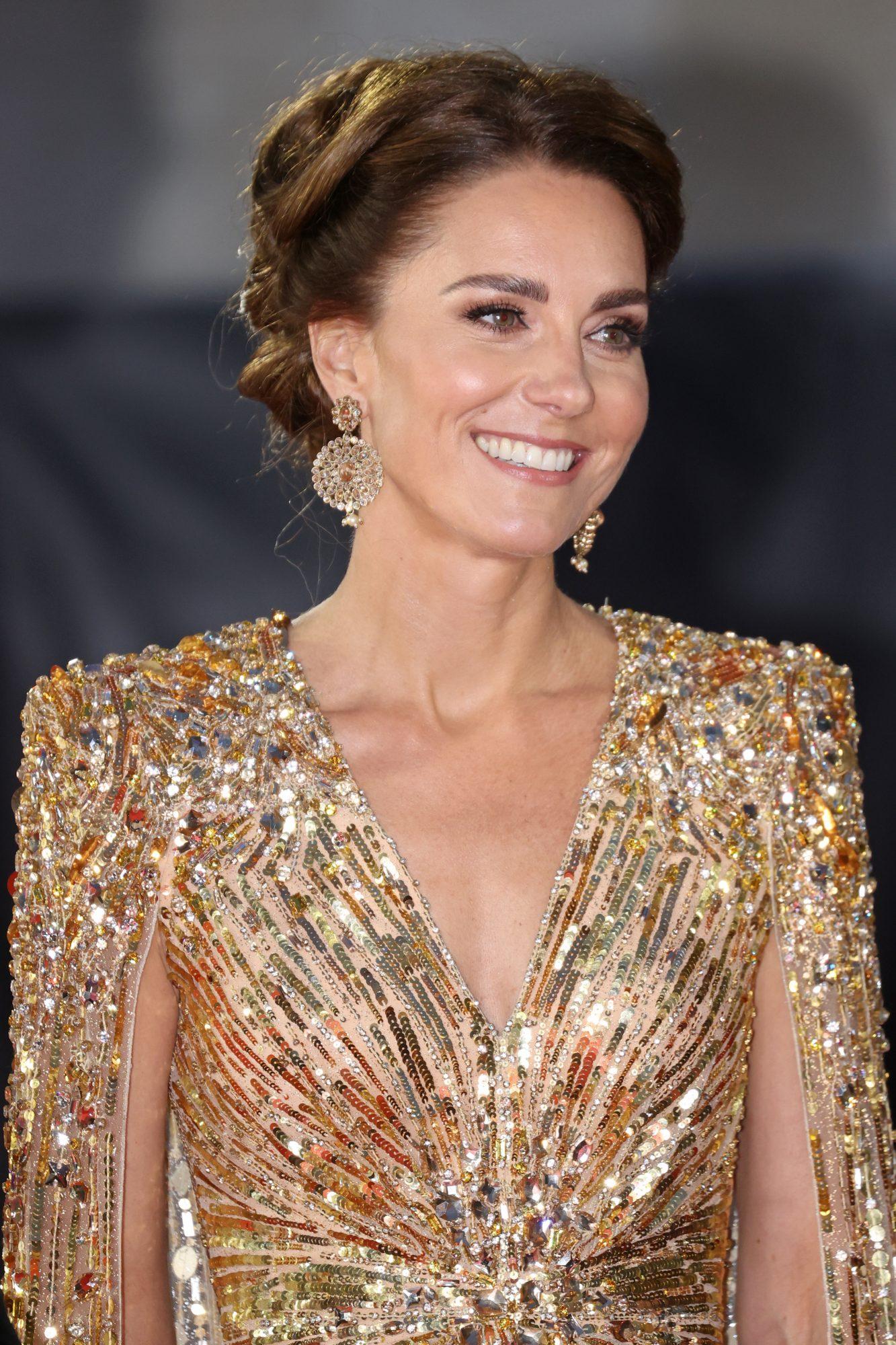 James Bond, No Time to Die estreno, alfombra roja, Kate Middleton