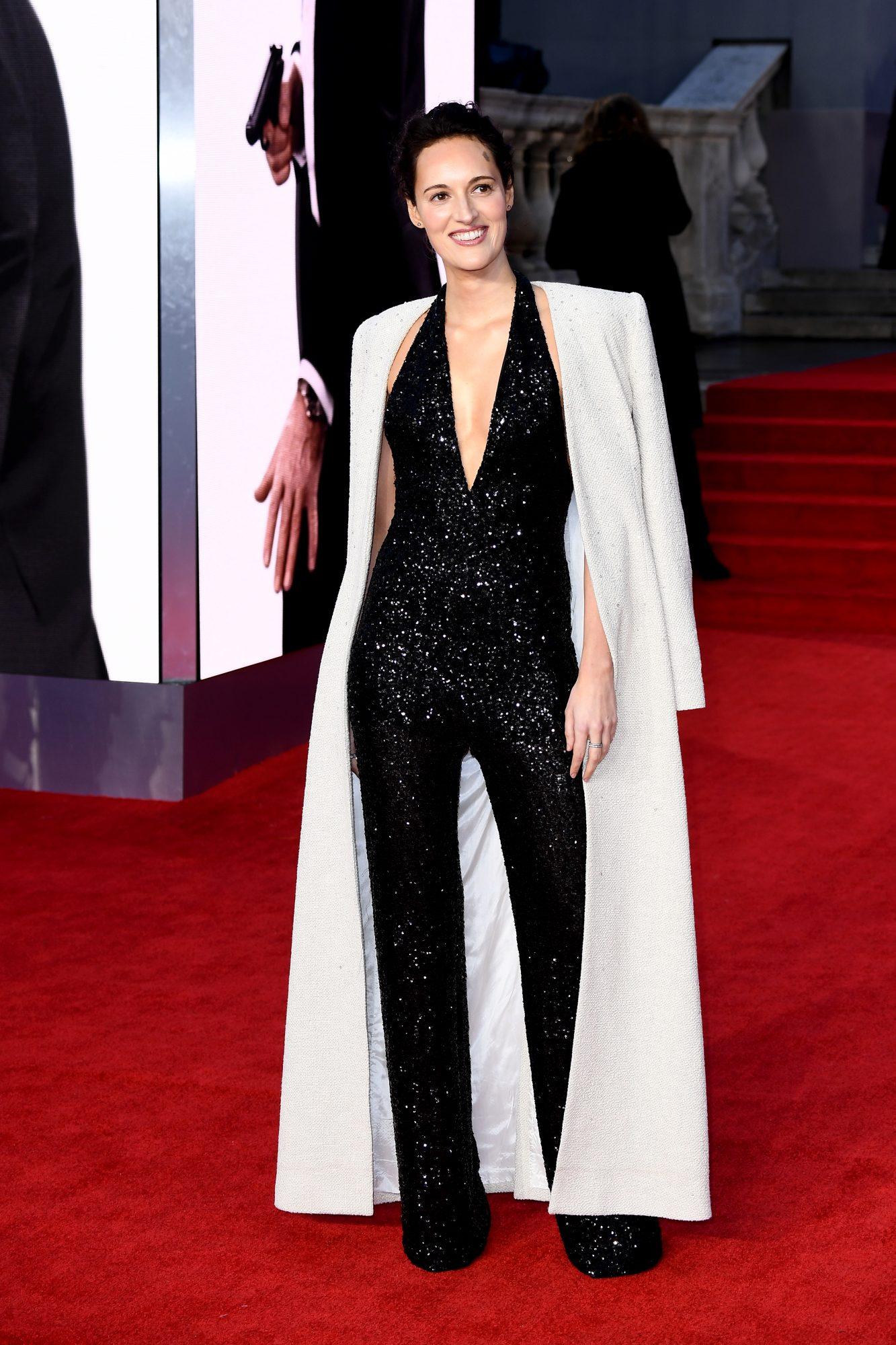 James Bond, No Time to Die estreno, alfombra roja, Phoebe Waller-Bridge