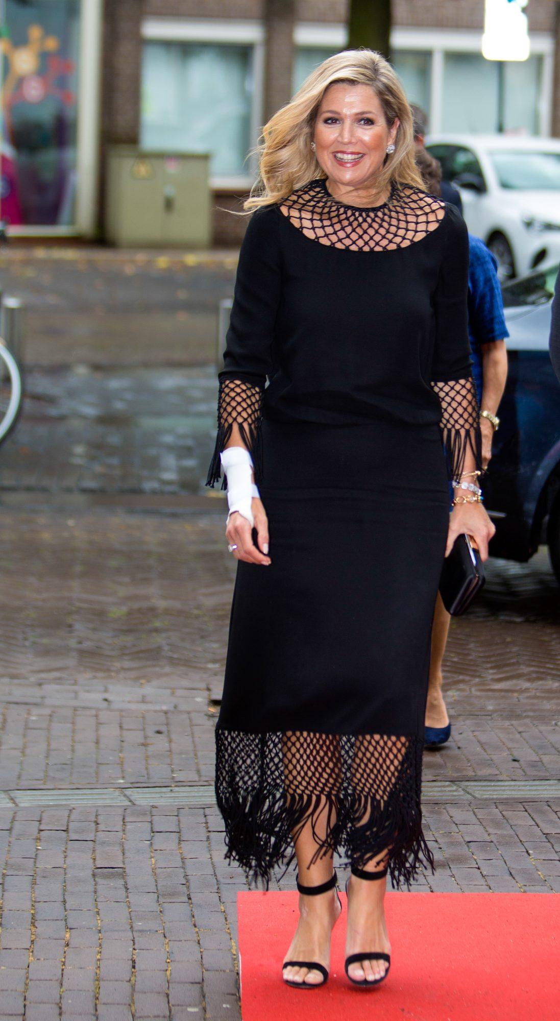 Reina Maxima de Holanda, look del dia