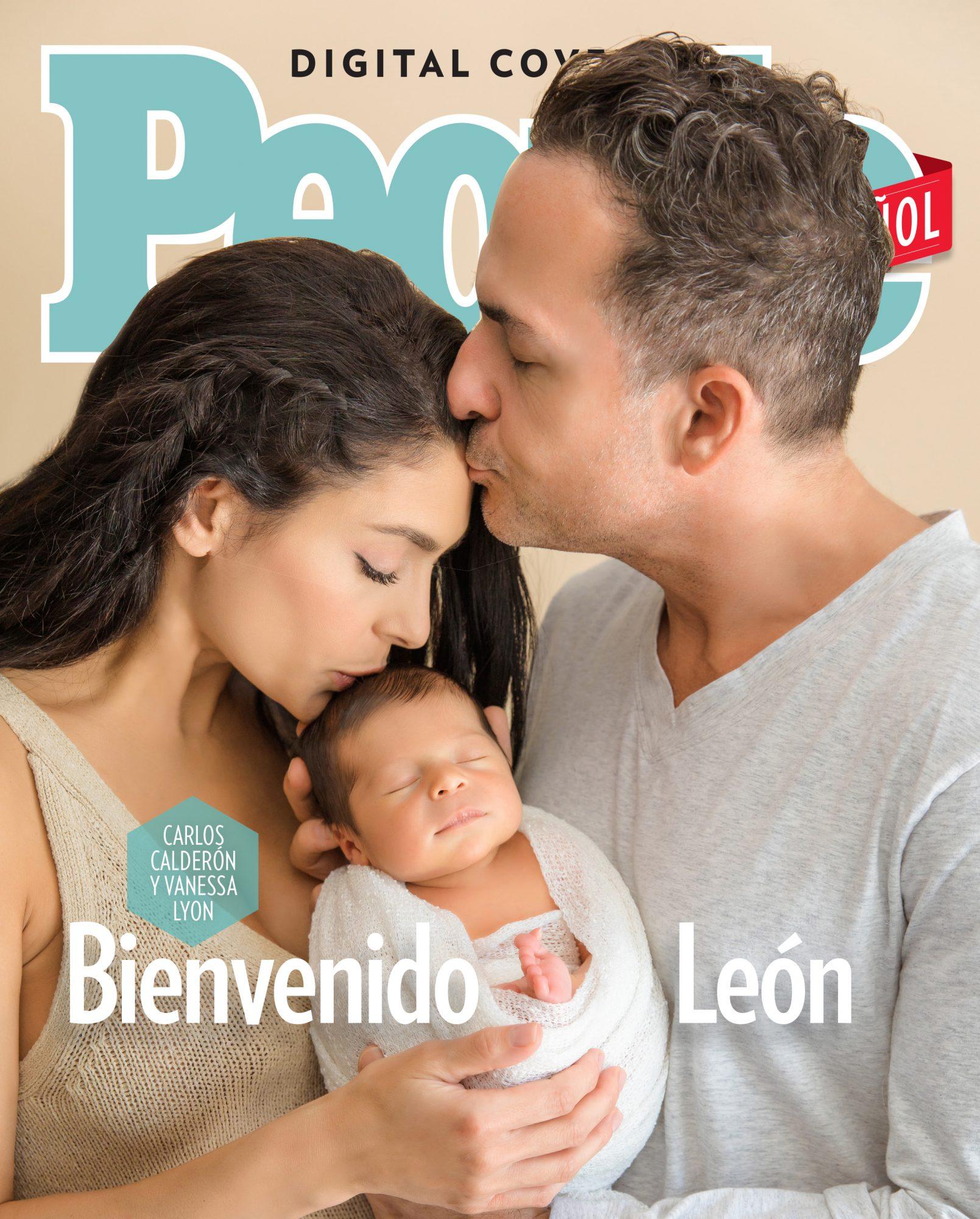 Carlos Calderon, Vanessa Lyon y Leon