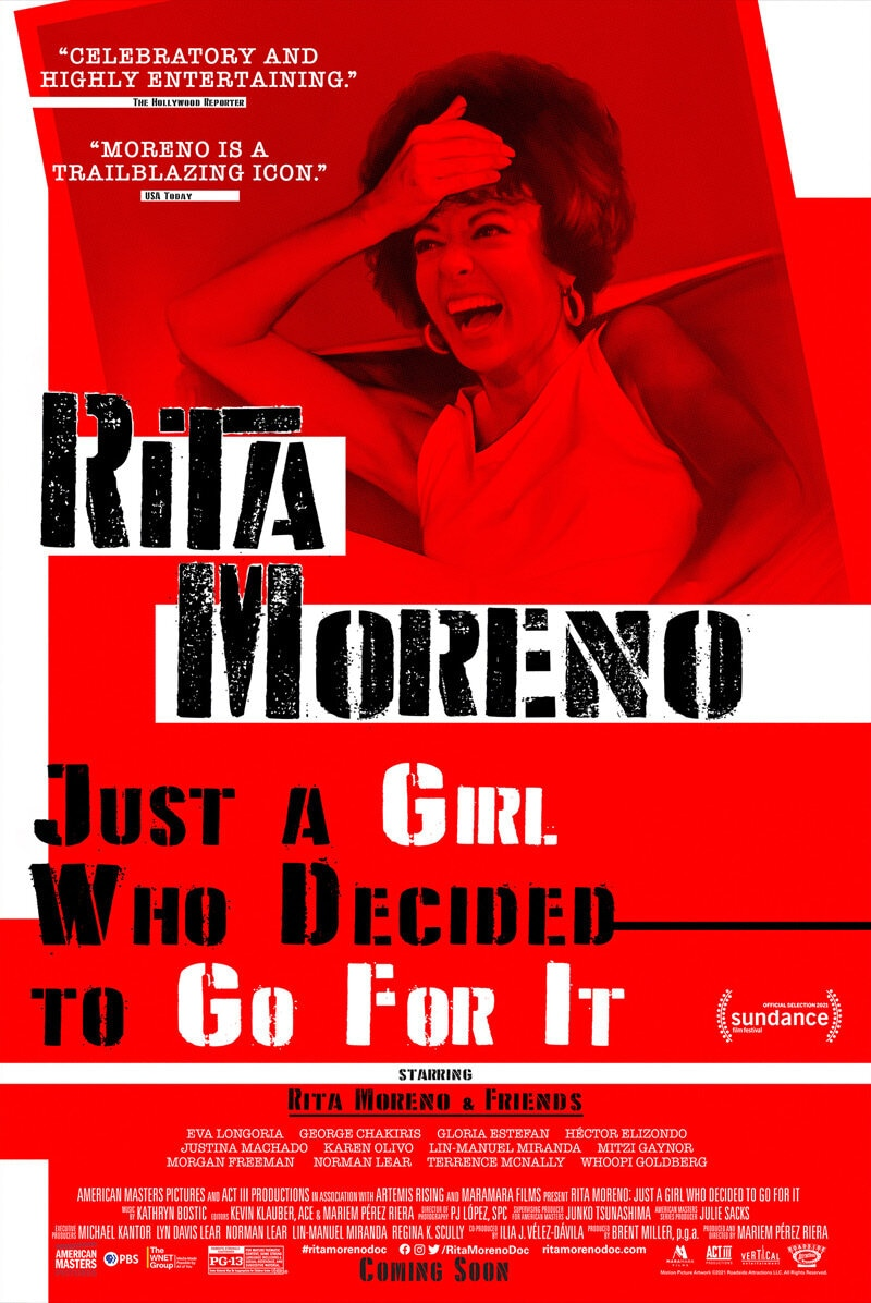 Rita Moreno: Just a Girl Who Decided To Go For It