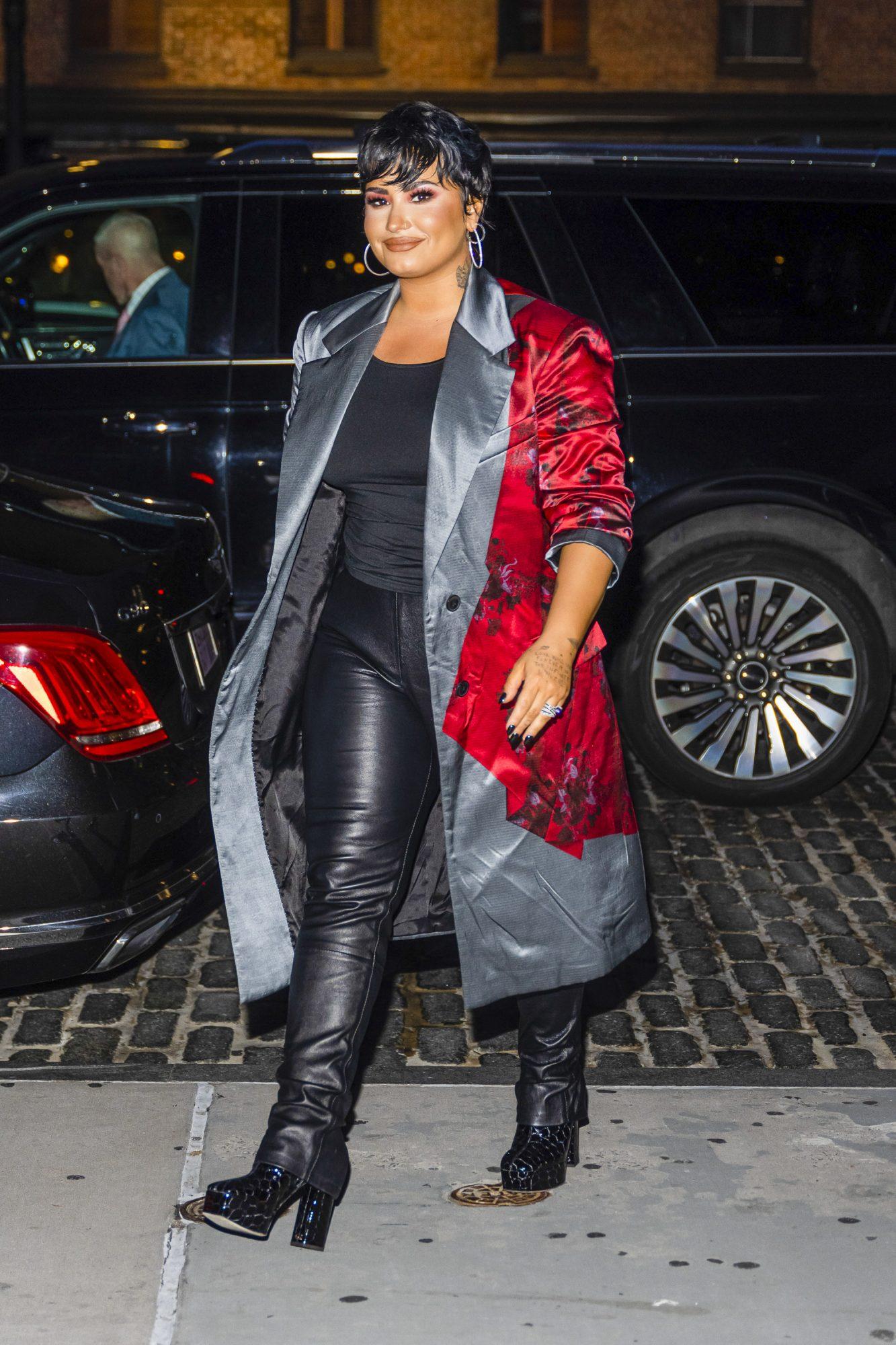 Demi Lovato, look del dia