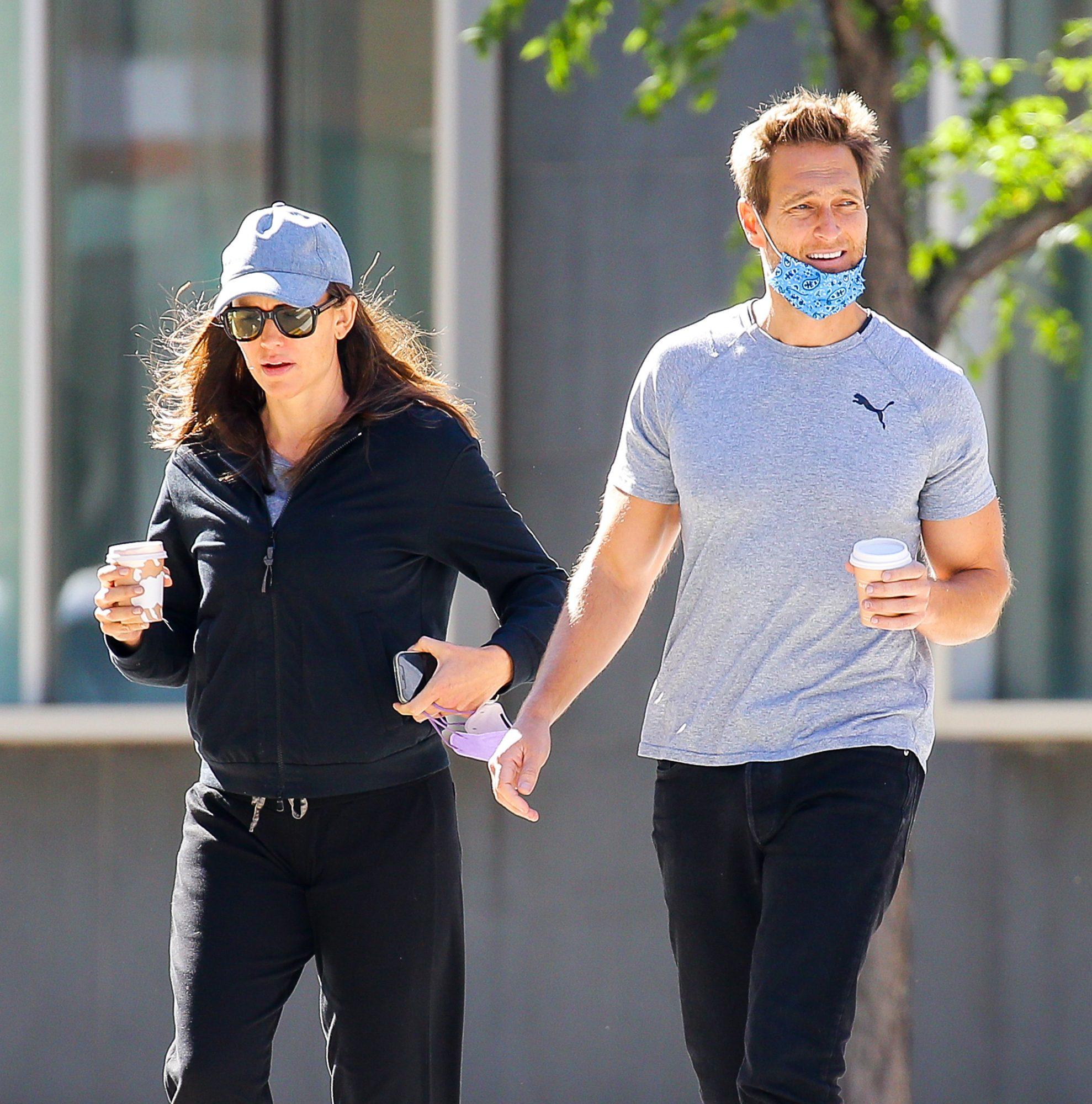 Jennifer Garner y su ex John C. Miller