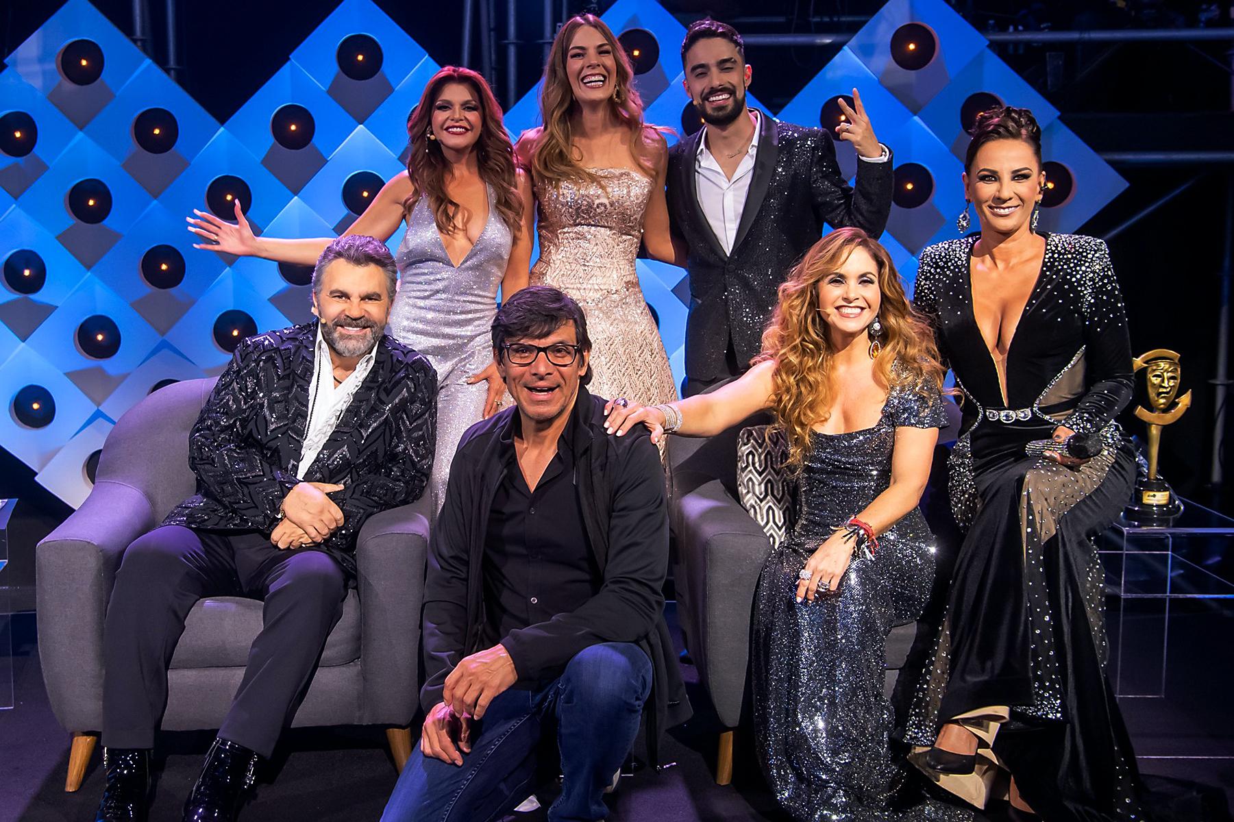 """Lucero, Mijares, Itatí Cantoral y Consuelo Duval en la final de """"El Retador"""""""