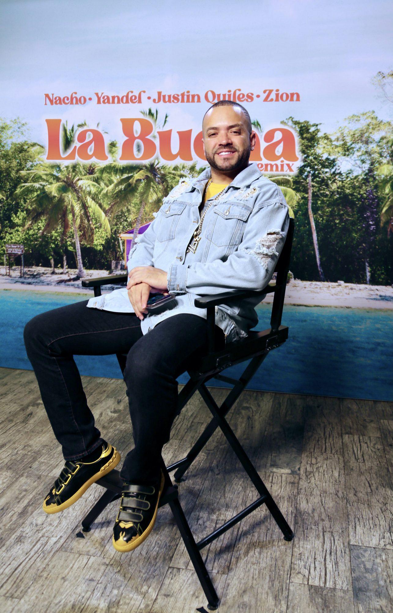 """Nacho cuenta con Yandel y más (Justin Quiles y Zion) para lanzar a modo de remix su más reciente sencillo, """"La Buena"""""""