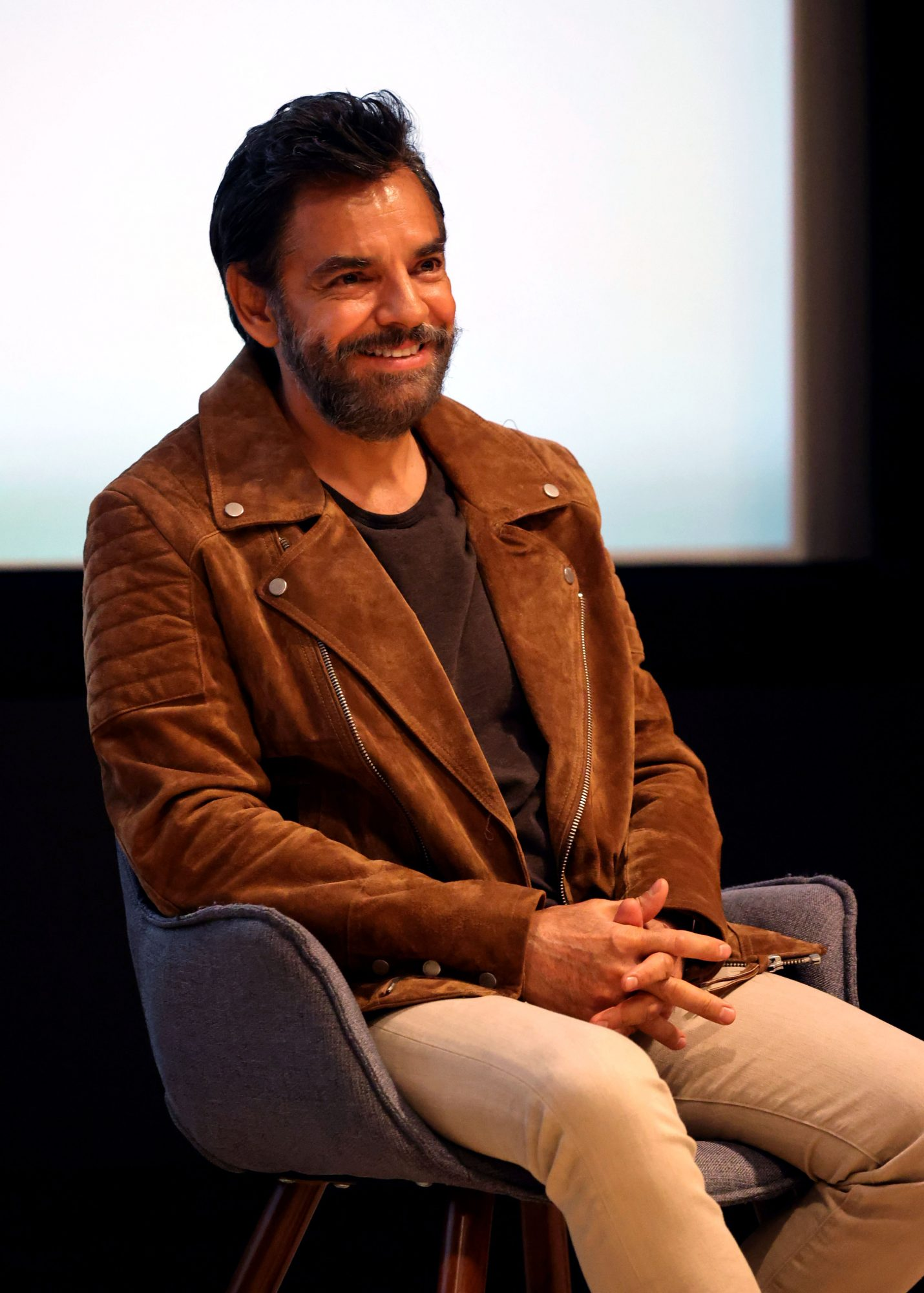 Eugenio Derbez Attends Apple's Special Screening & Q+A of 'Coda' at The Edition Hotel