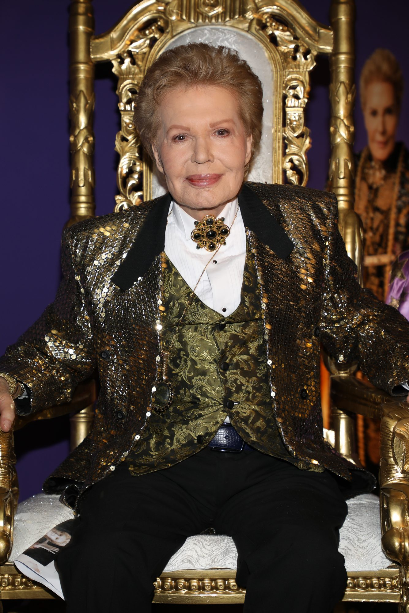Walter Mercado Attends The Opening Of Mucho, Mucho Amor: 50 Years of Walter Mercado