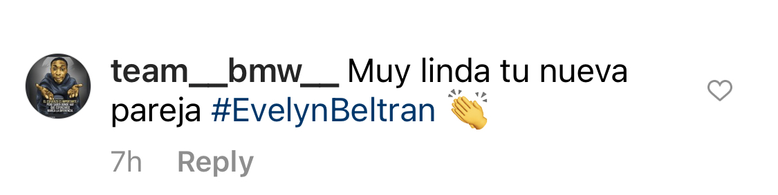 Toni Costa Instagram comentarios
