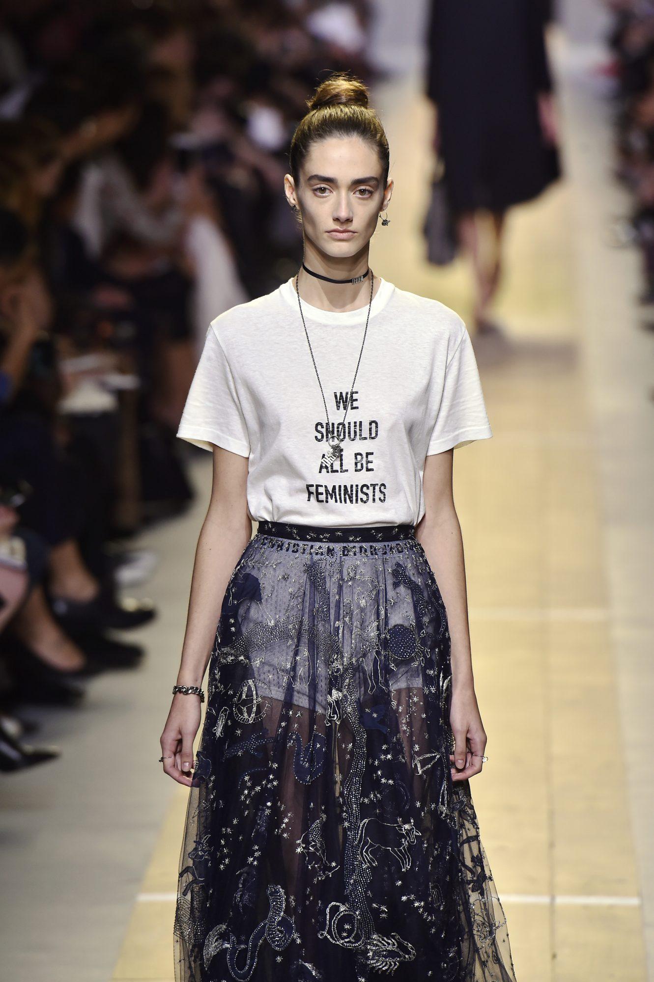 Penelope Cruz camiseta feminista Dior